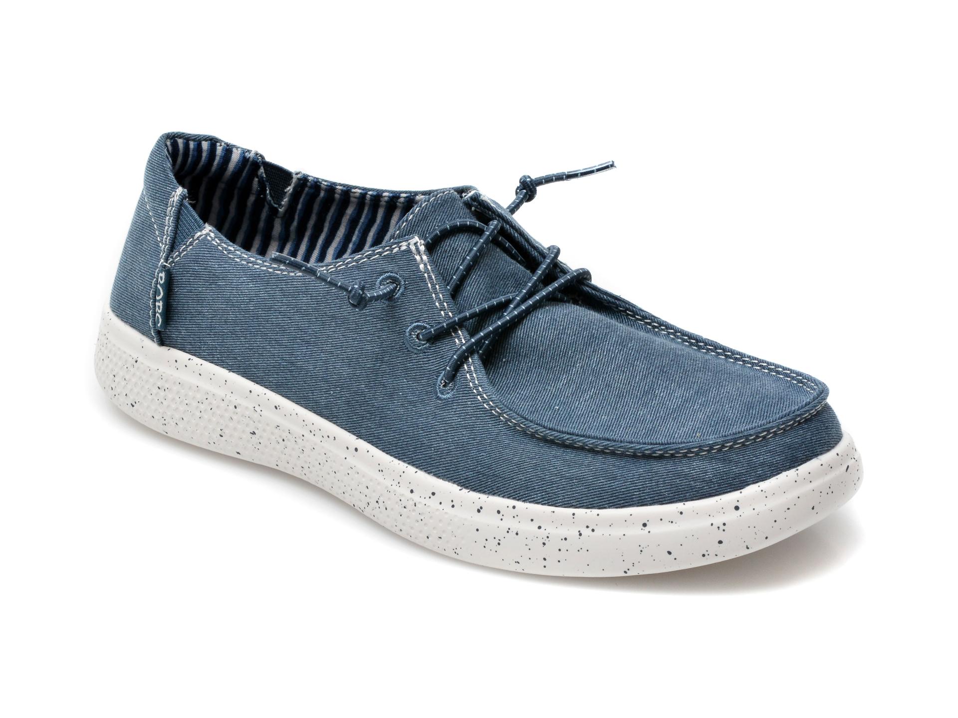 Pantofi SKECHERS bleumarin, Bobs Skipper Summer Life, din material textil imagine otter.ro 2021
