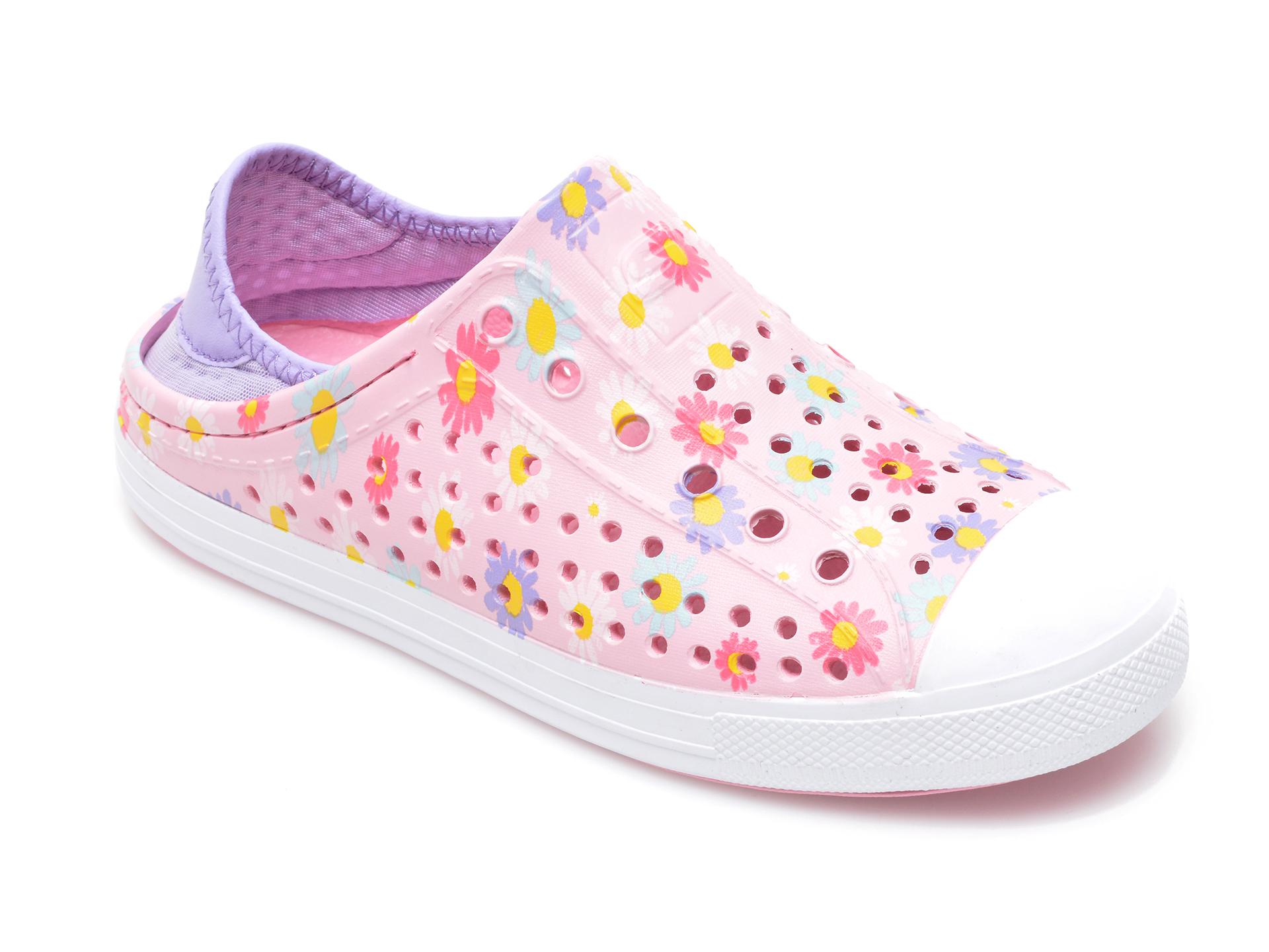 Pantofi SKECHERS roz, 302114L, din pvc