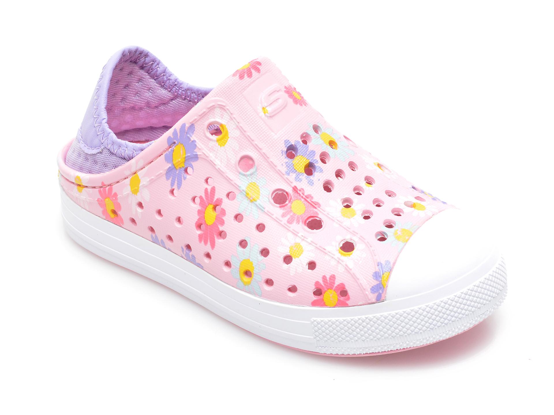 Pantofi SKECHERS roz, Guzman Steps Hello Daisy, din material textil imagine otter.ro