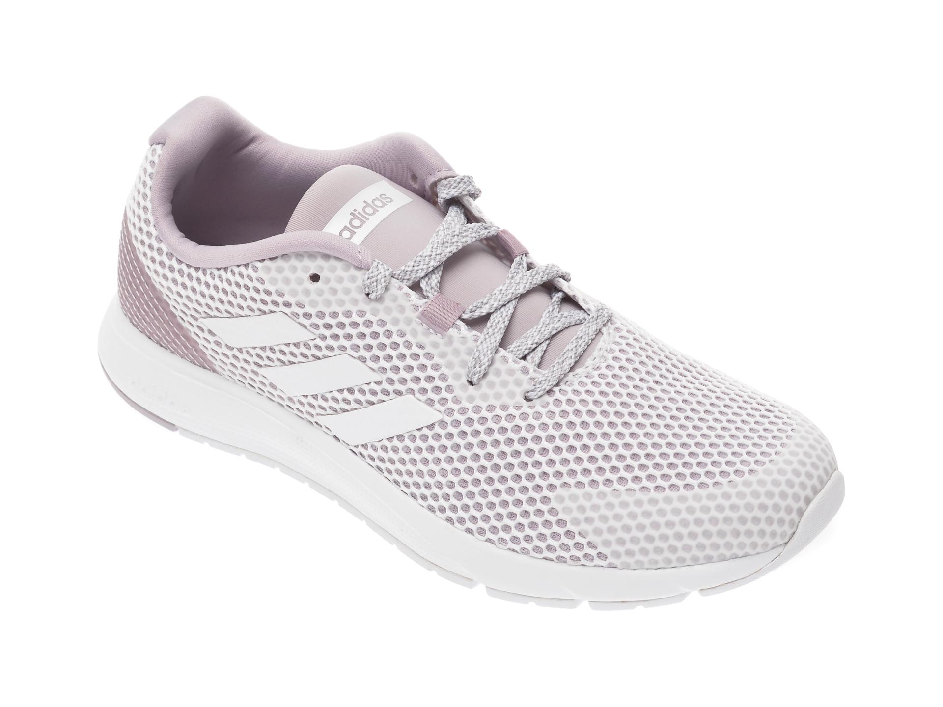 Pantofi sport ADIDAS albi, Sooraj, din material textil