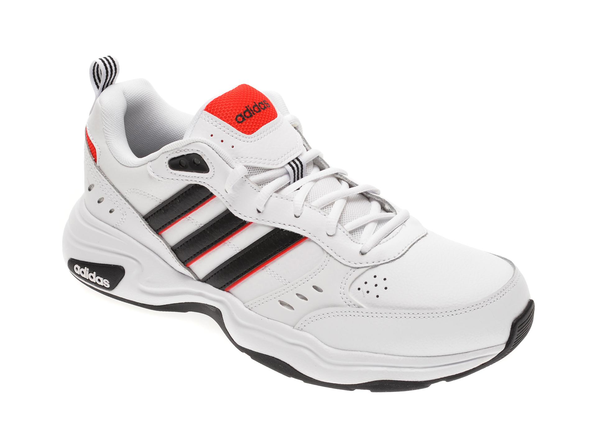 Pantofi sport ADIDAS albi, STRUTTER, din piele naturala imagine