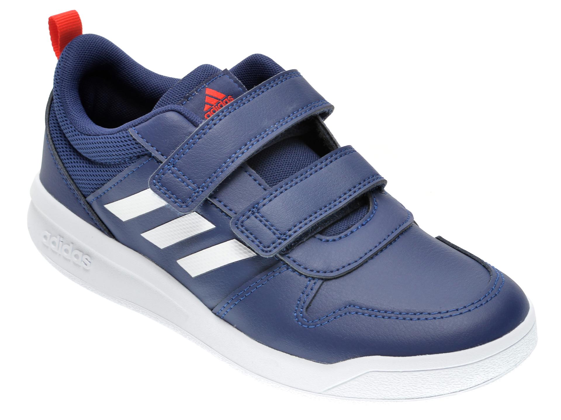 Pantofi sport ADIDAS bleumarin, TENSAUR, din piele ecologica imagine otter.ro
