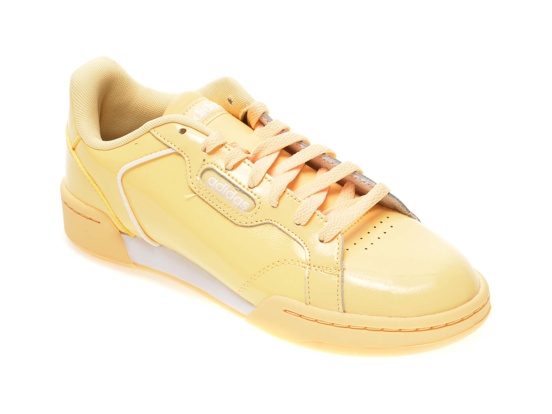 Pantofi sport ADIDAS galbeni, ROGUERA, din piele naturala