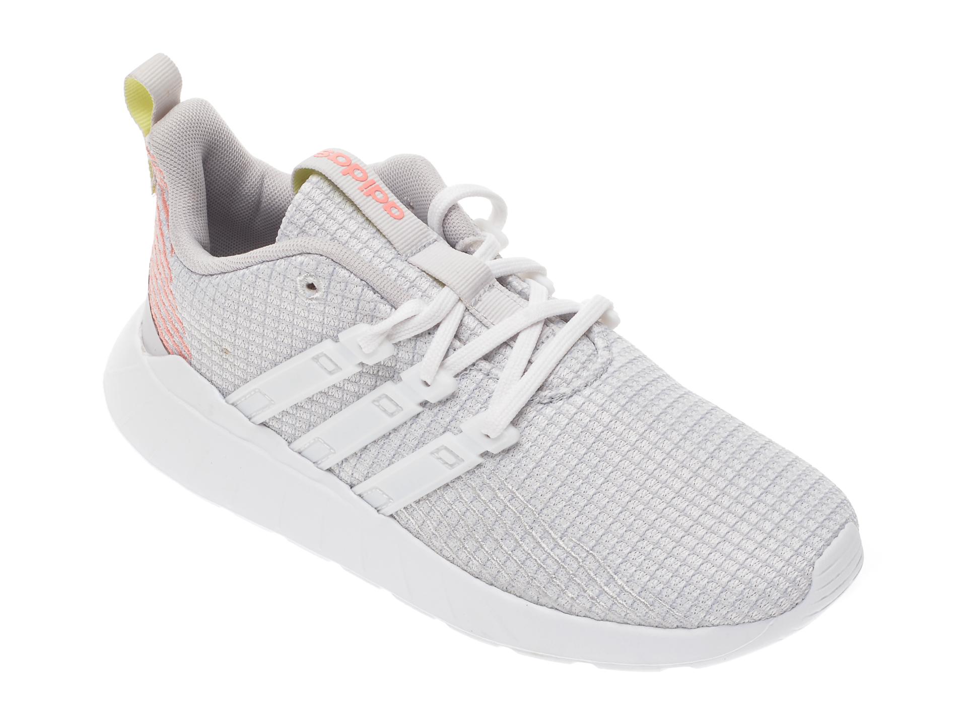 Pantofi sport ADIDAS gri, Questar Flow K, din material textil imagine