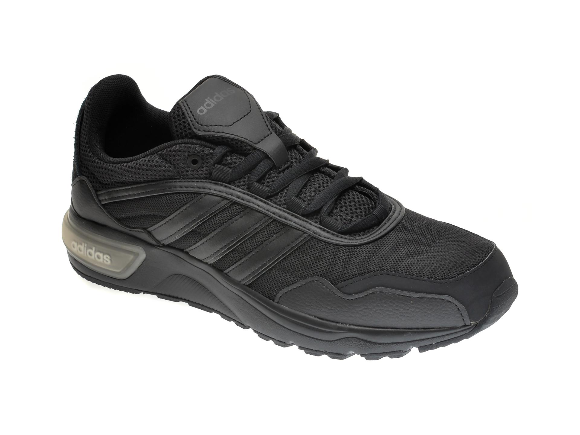 Pantofi sport ADIDAS negri, 90S RUNNER, din material textil imagine otter.ro 2021