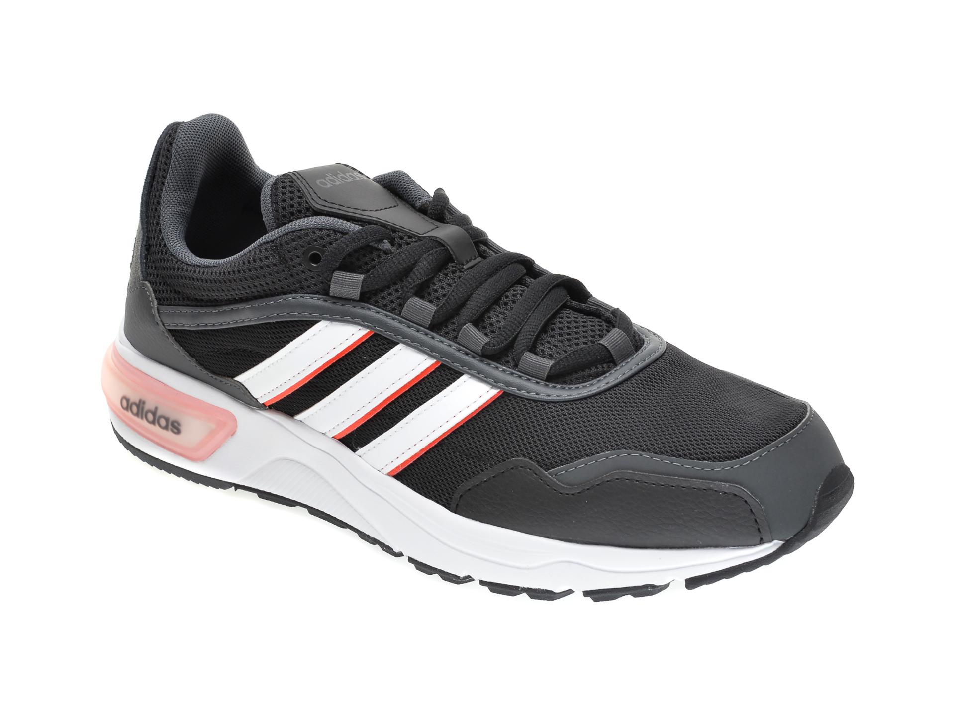 Pantofi sport ADIDAS negri, 90S RUNNER, din material textil imagine