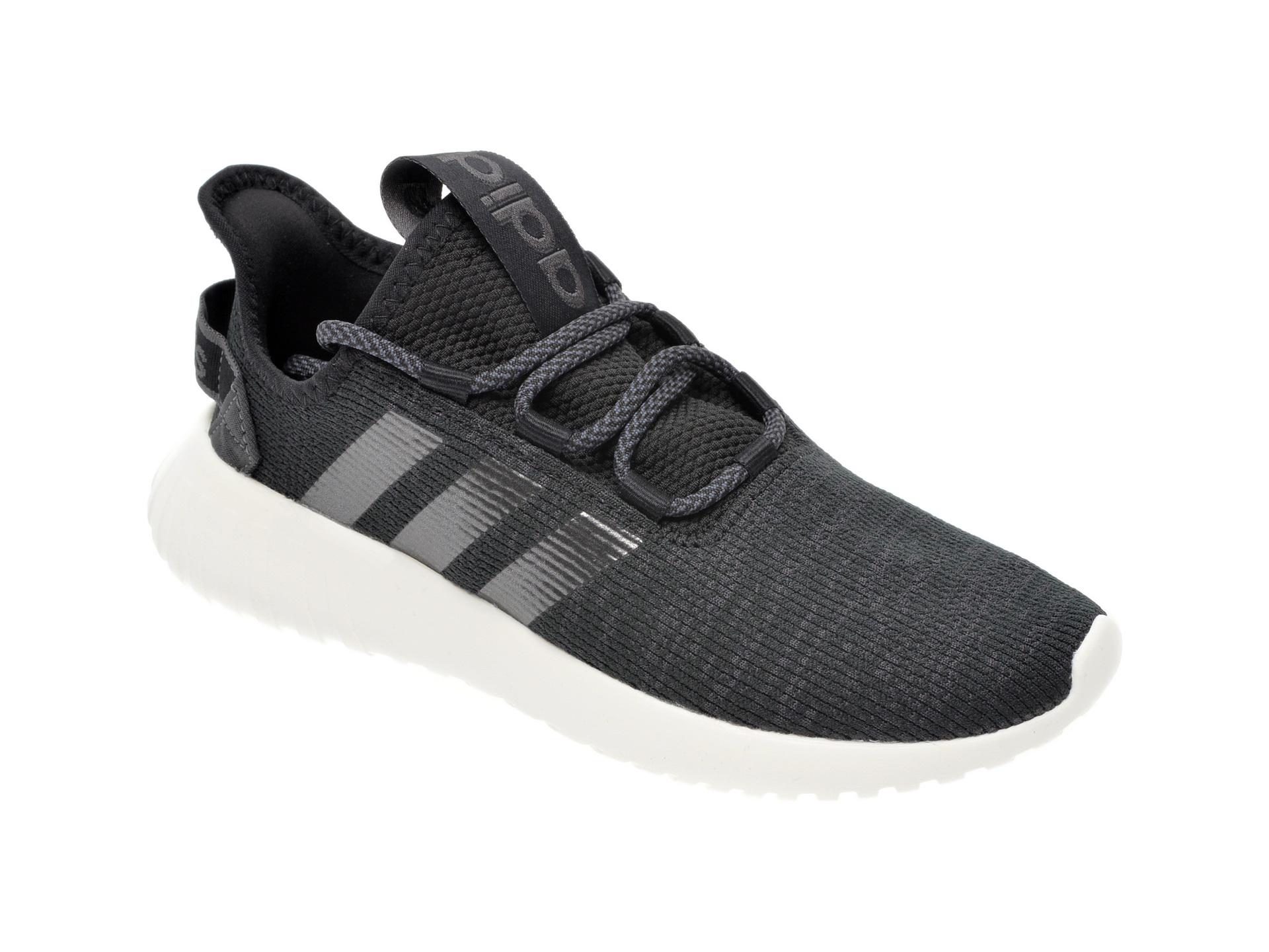 Pantofi sport ADIDAS negri, Kaptir X, din material textil imagine