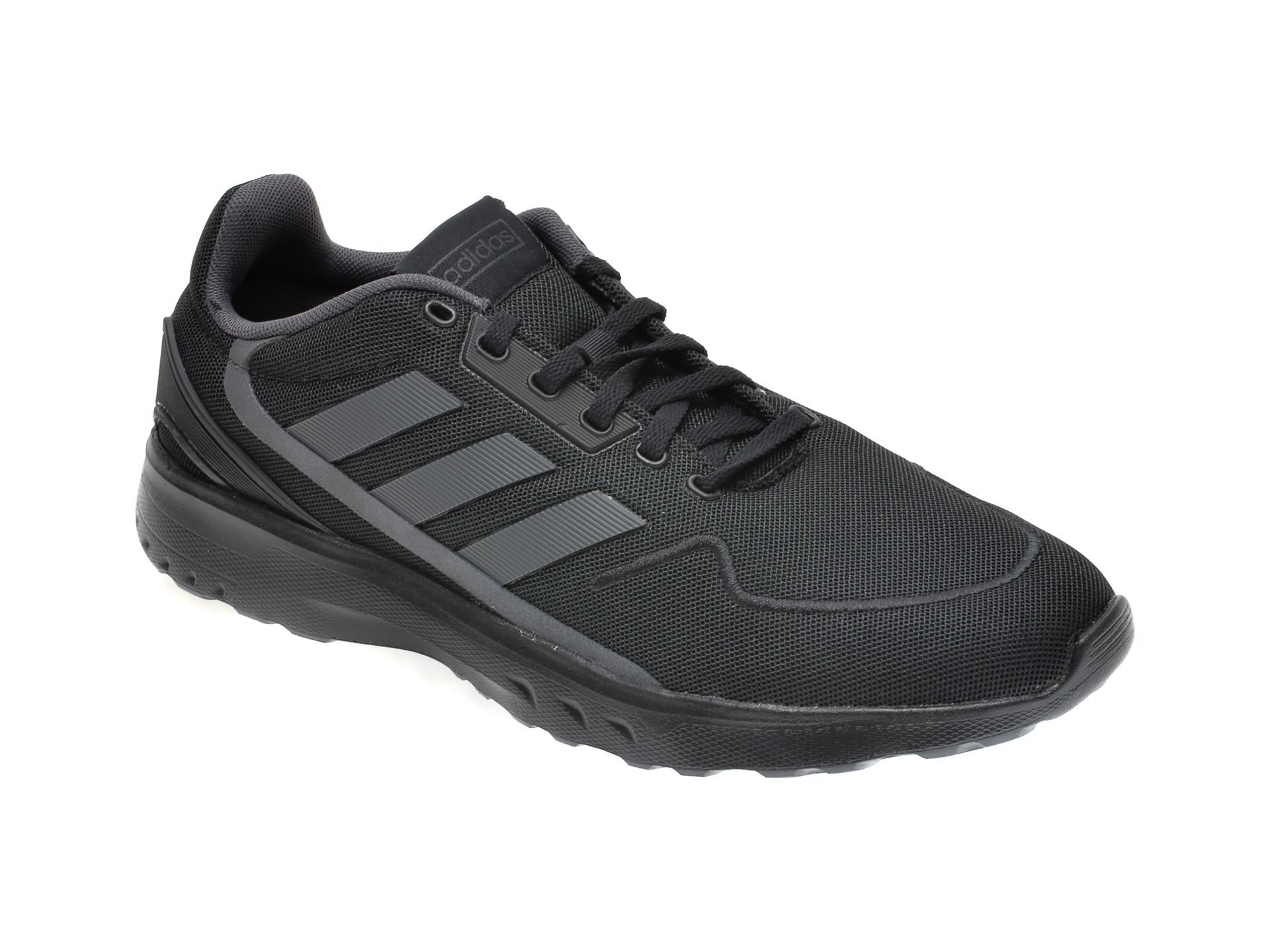 Pantofi sport ADIDAS negri, NEBZED, din material textil imagine