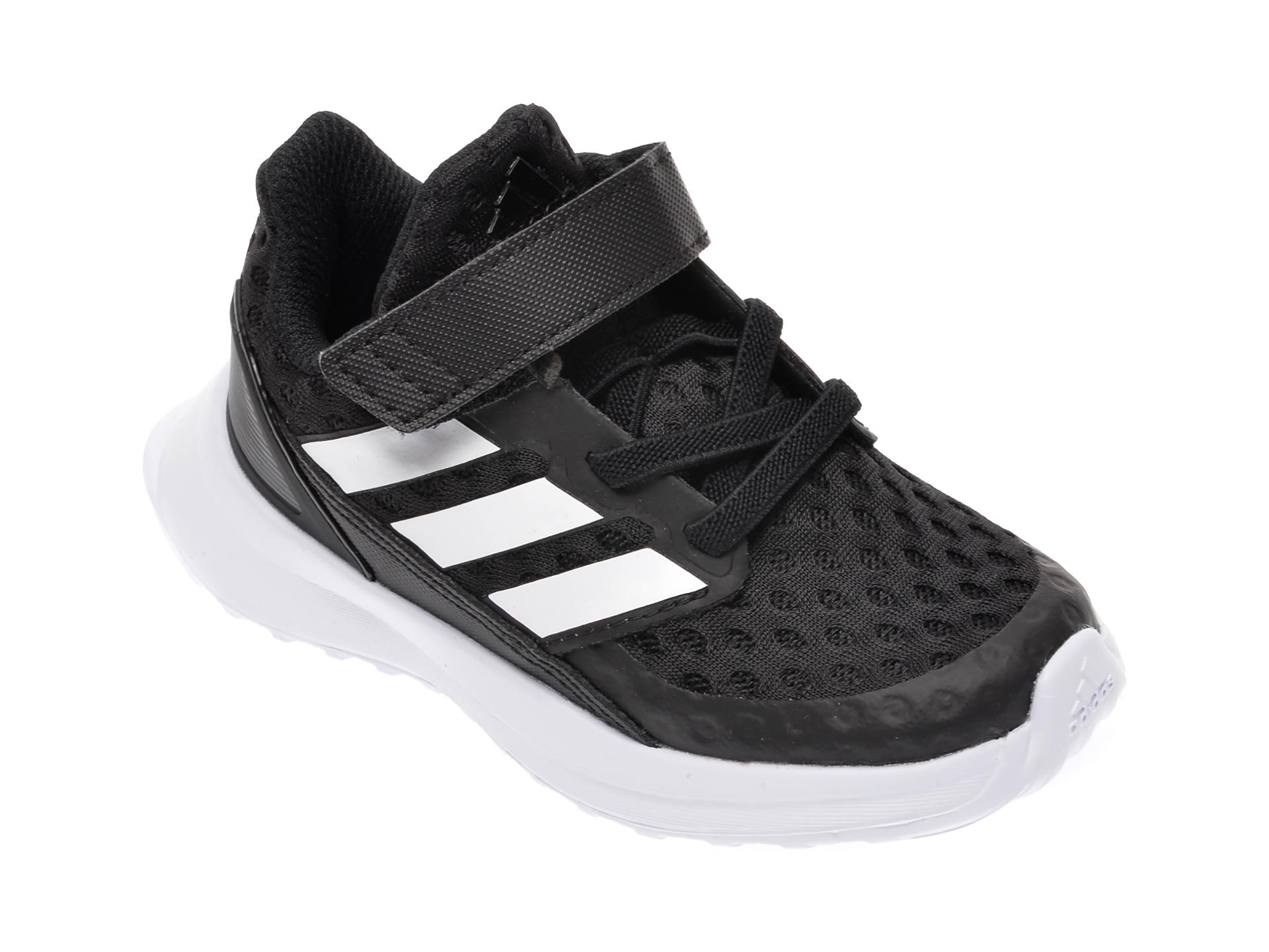Pantofi sport ADIDAS negri, Rapidarun El I, din material textil New