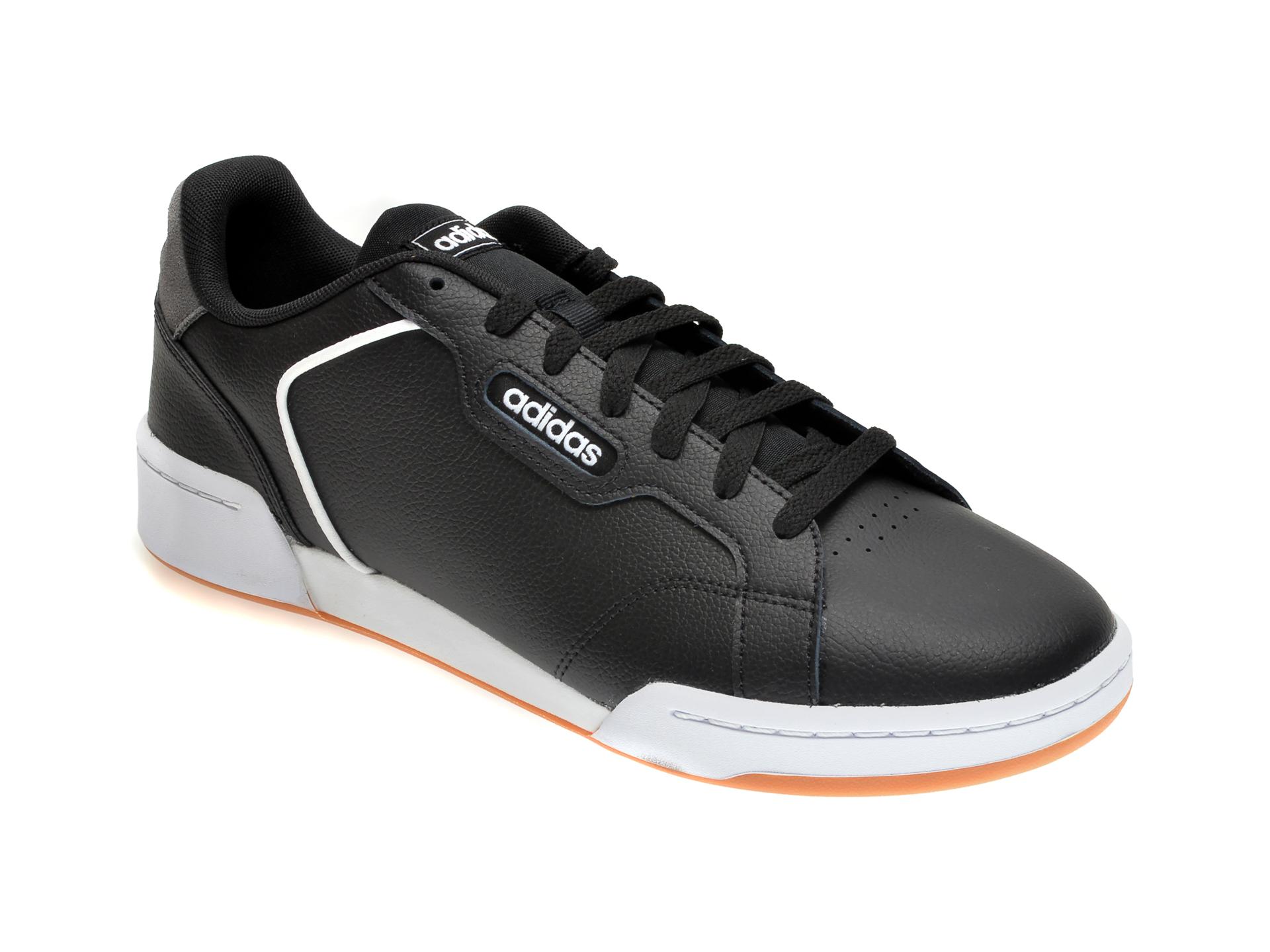 Pantofi sport ADIDAS negri, ROGUERA, din piele naturala imagine