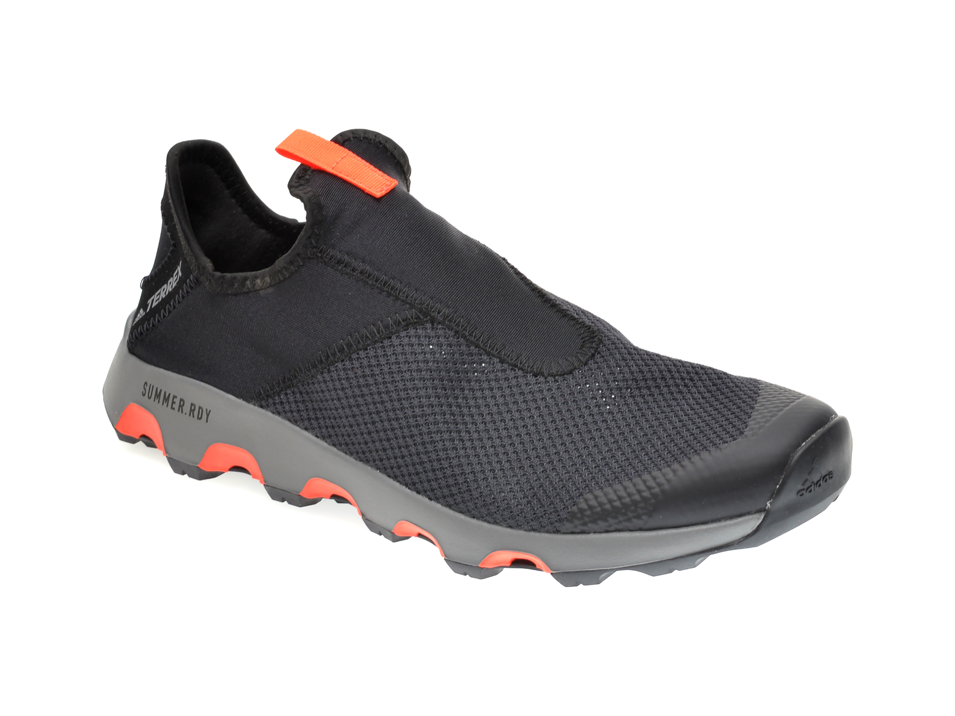Pantofi sport ADIDAS negri, TERREX VOYAGER SLIP, din material textil imagine