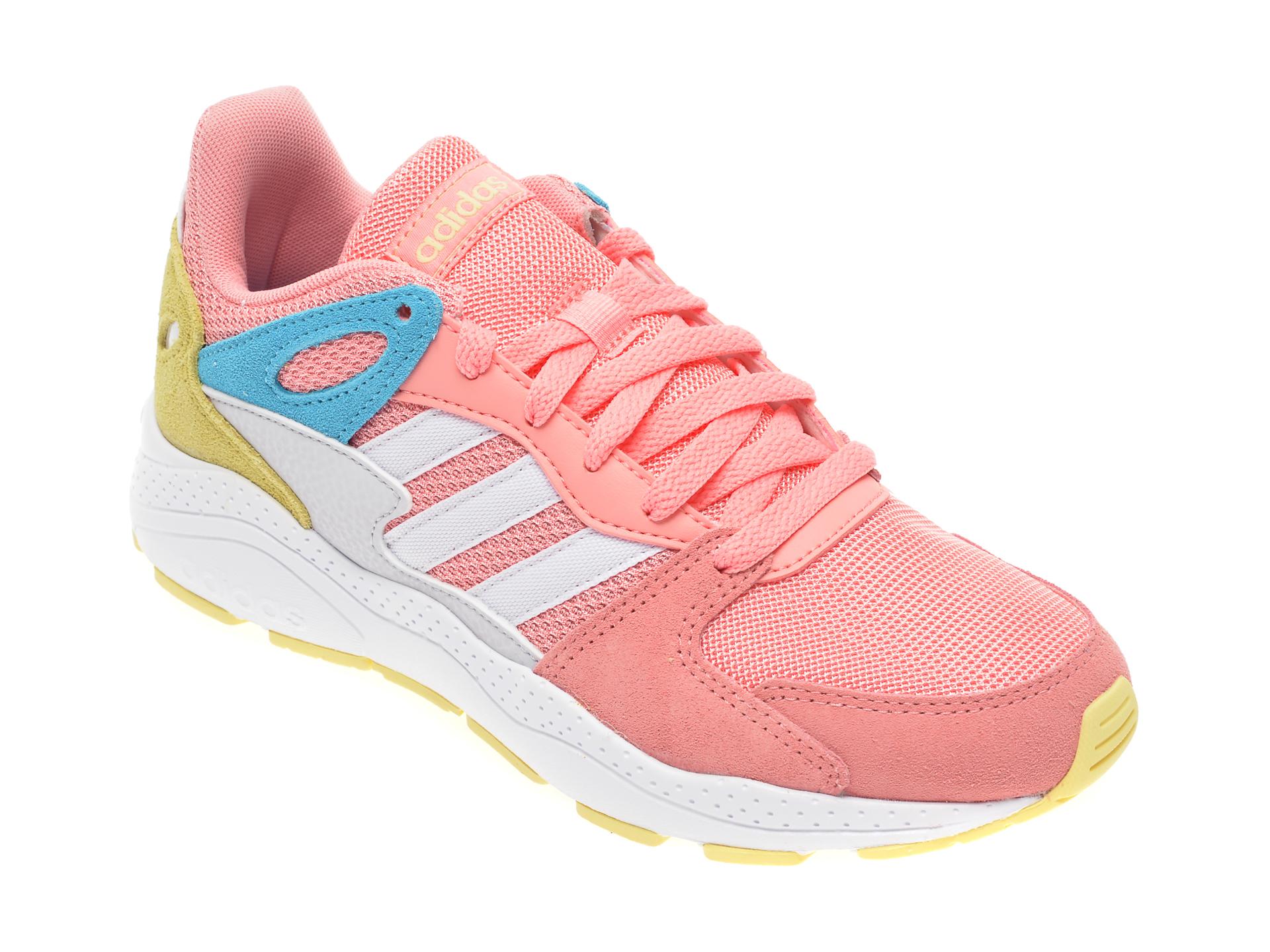Pantofi sport ADIDAS roz, Crazychaos J, din material textil