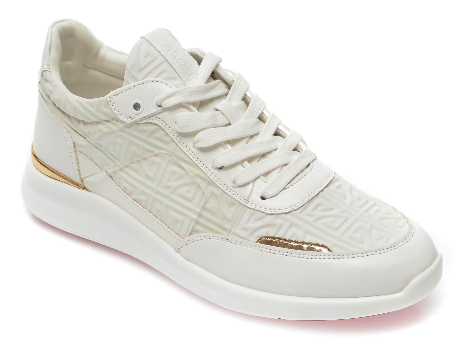 Pantofi sport ALDO albi, Adalwin100, din material textil imagine