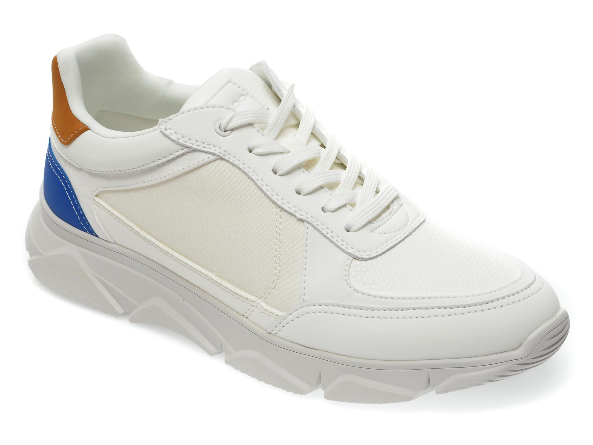 Pantofi sport ALDO albi, Bradd100, din piele ecologica imagine