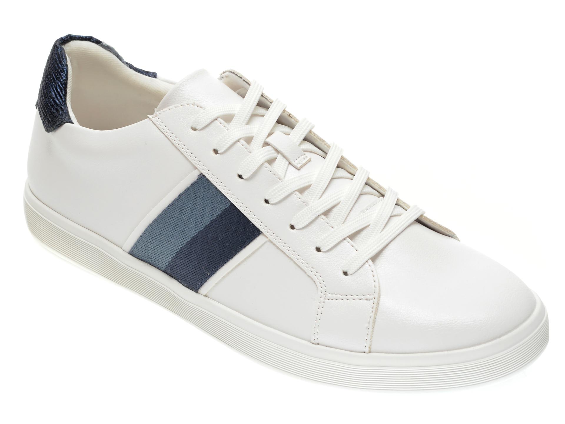 Pantofi sport ALDO albi, Cowien120, din piele ecologica imagine