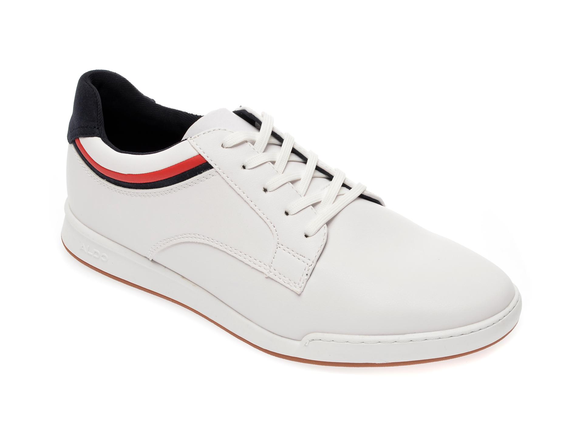 Pantofi sport ALDO albi, Jeanluc100, din piele ecologica imagine