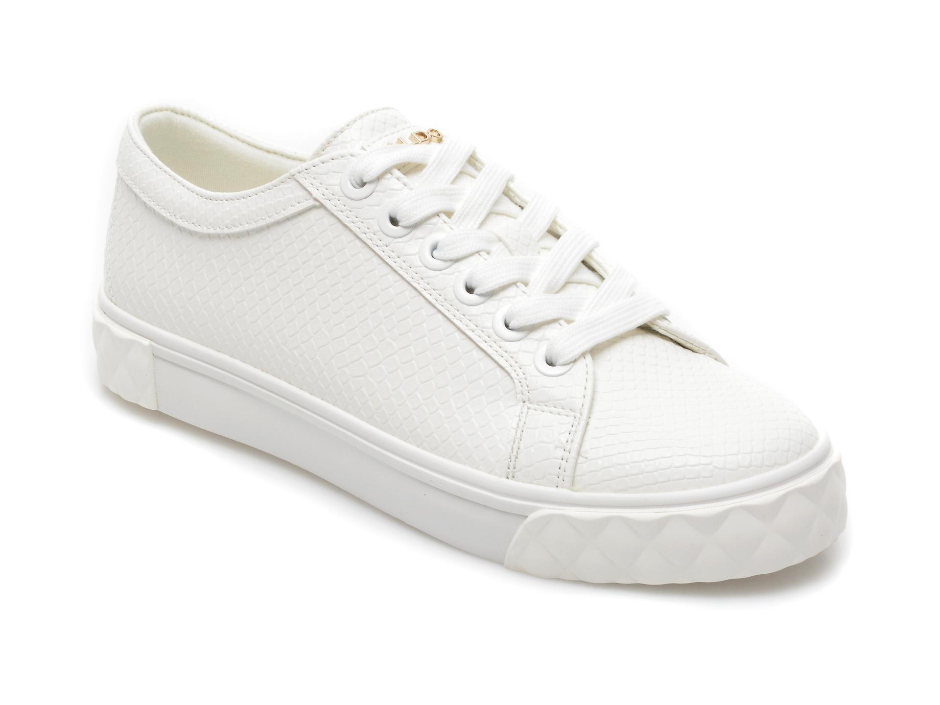 Pantofi sport ALDO albi, Kaendandra100, din piele ecologica imagine 2021 Aldo