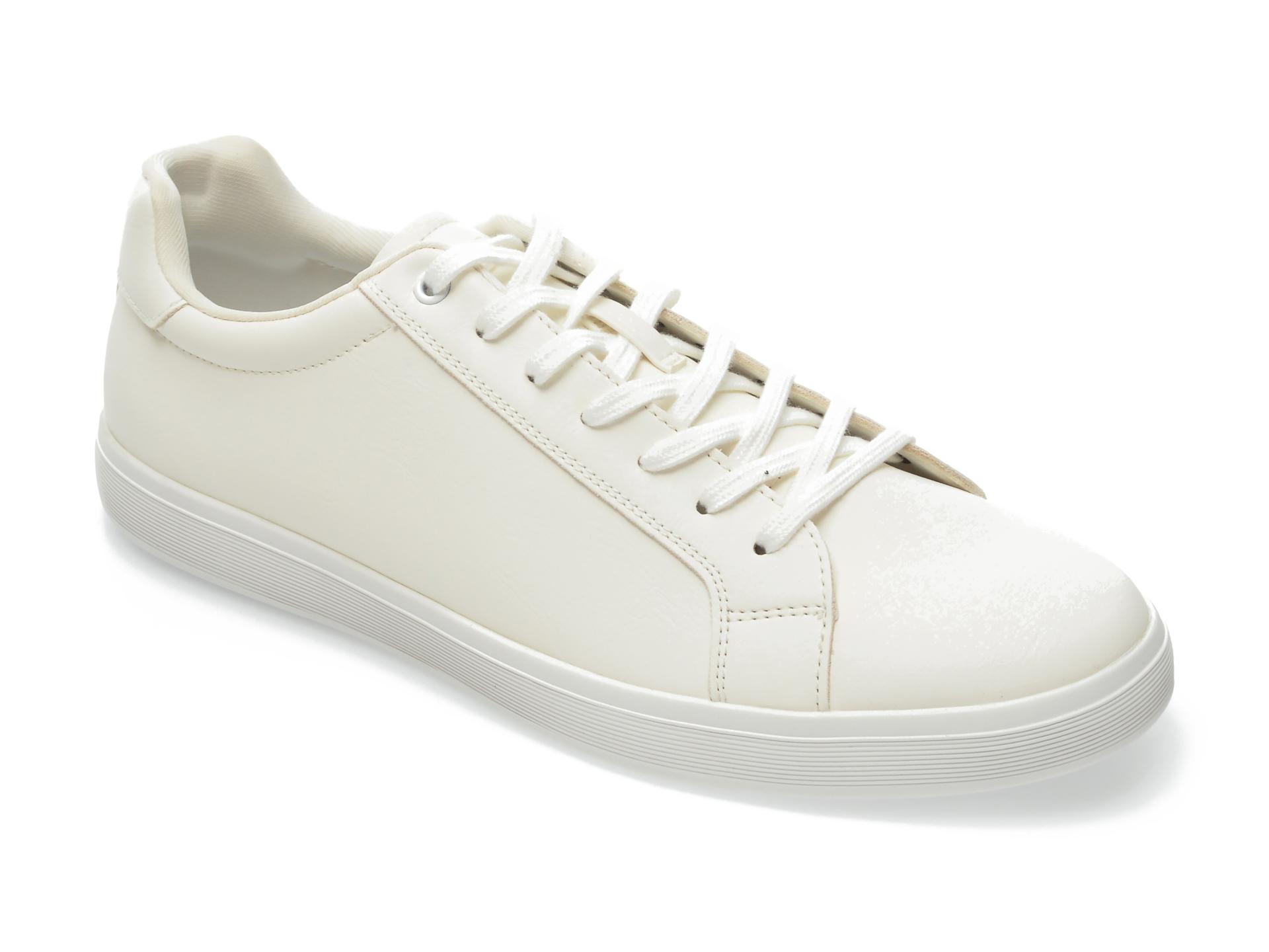 Pantofi sport ALDO albi, Keduwen100, din piele ecologica imagine