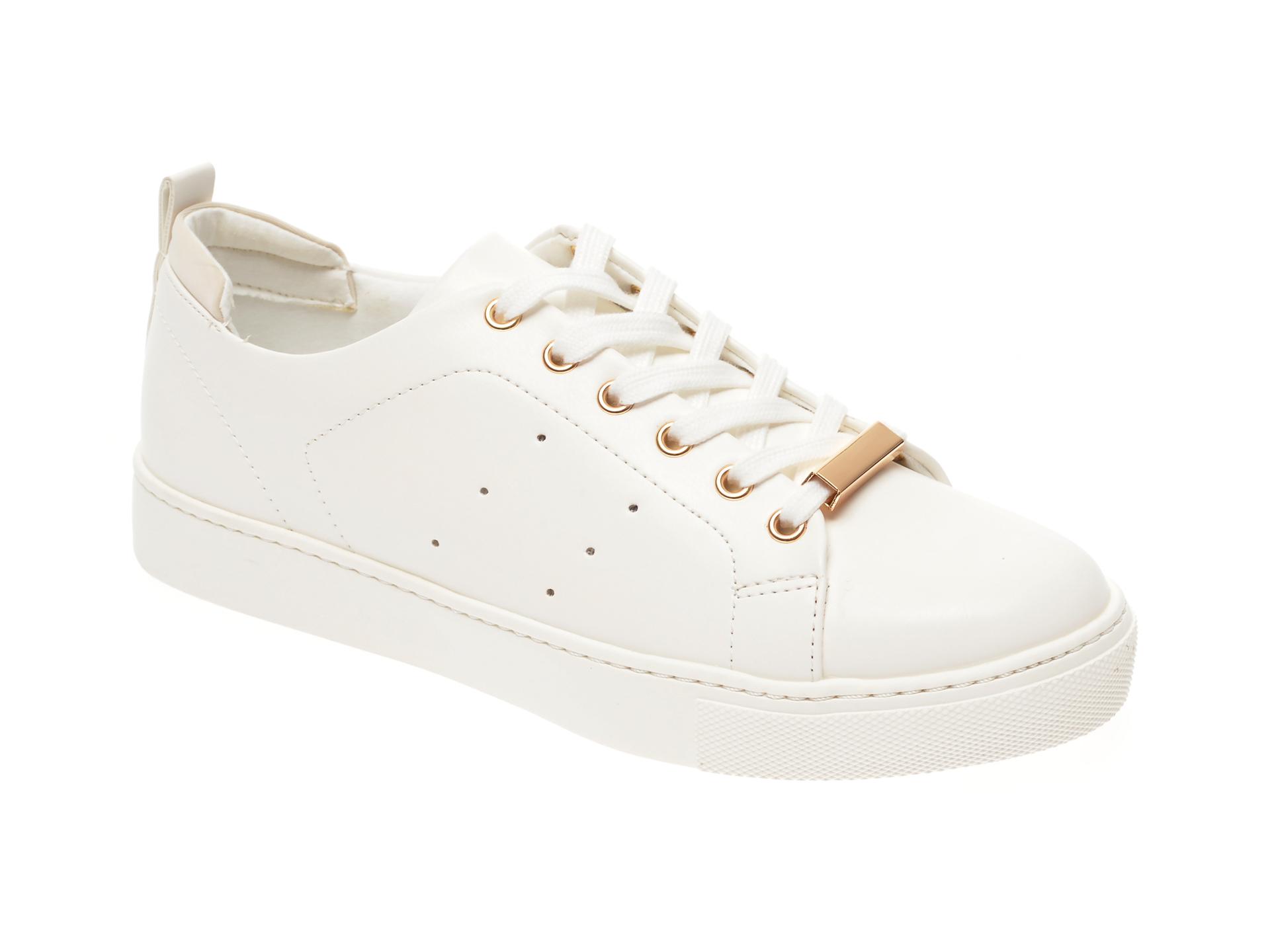 Pantofi sport ALDO albi, Mirarevia100, din piele ecologica