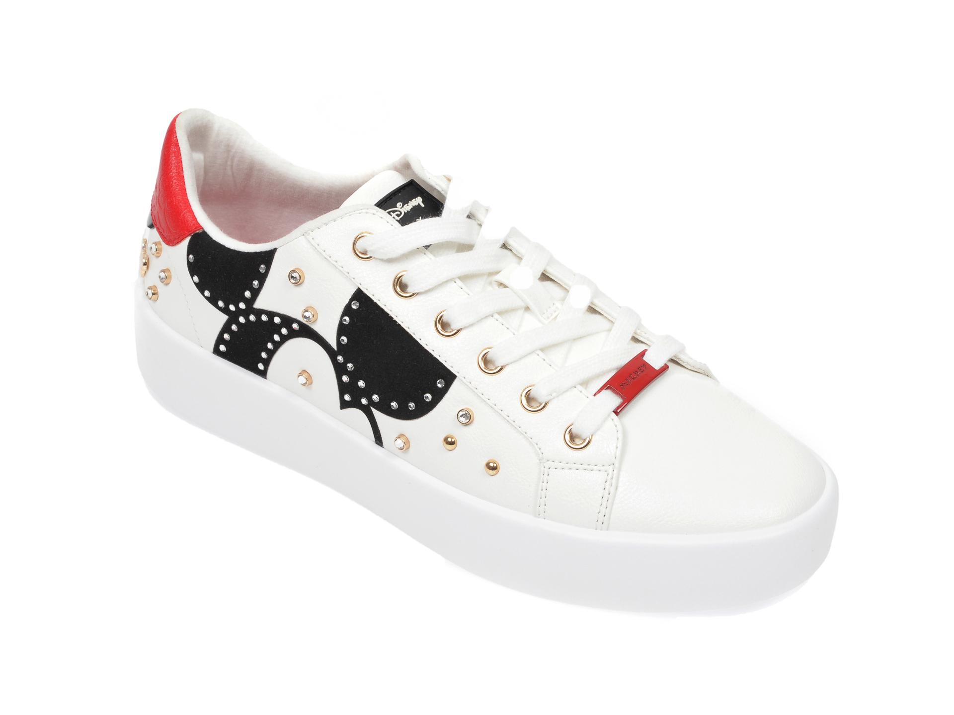 Pantofi sport ALDO albi, Party-Mickey100, din piele ecologica