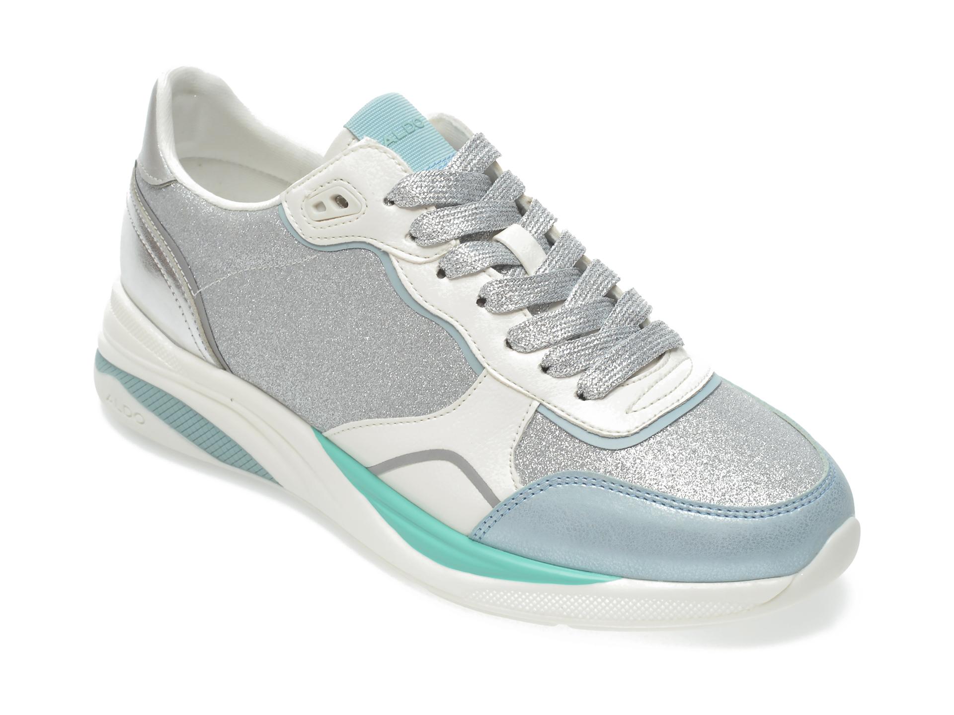 Pantofi sport ALDO argintii, Makenna040, din piele ecologica imagine 2021 Aldo