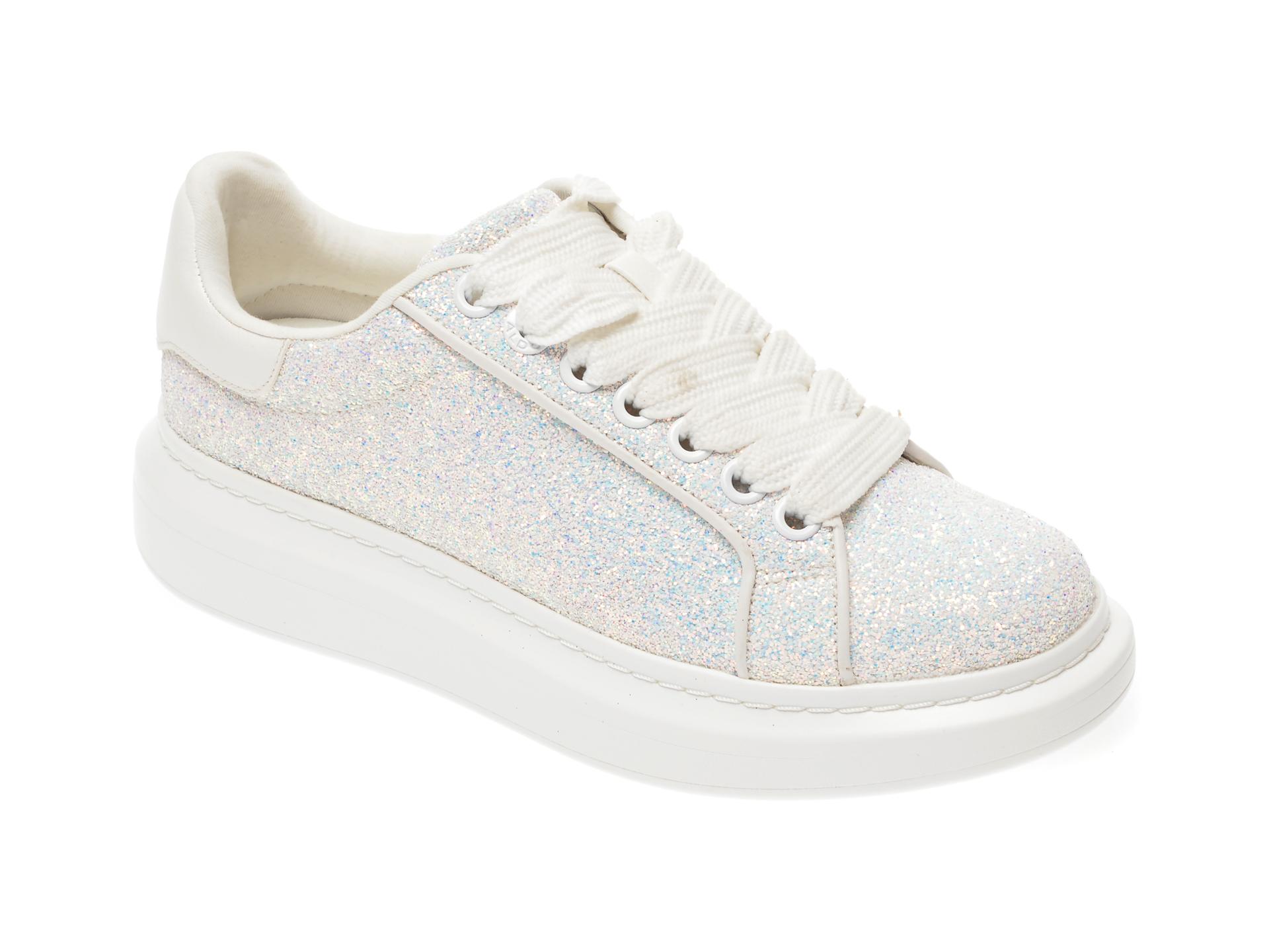 Pantofi sport ALDO argintii, Radiant965, din piele ecologica imagine otter.ro