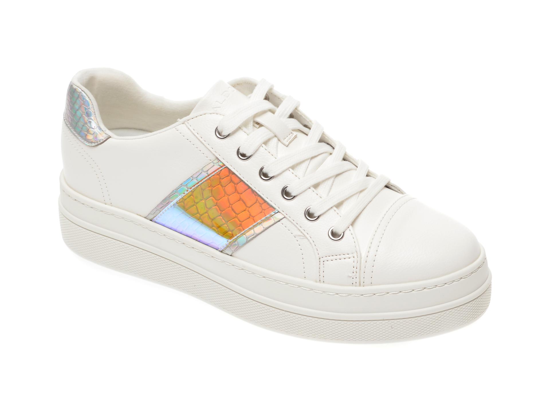 Pantofi sport ALDO argintii, Starburst962, din piele ecologica