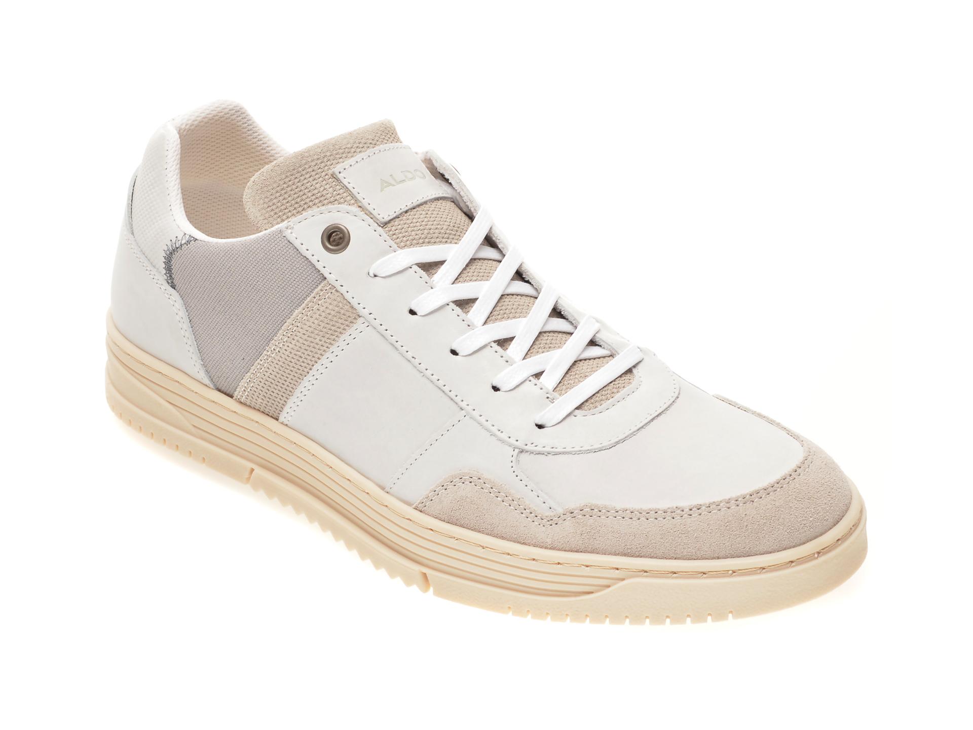 Pantofi sport ALDO gri, Kopiko100, din piele naturala imagine