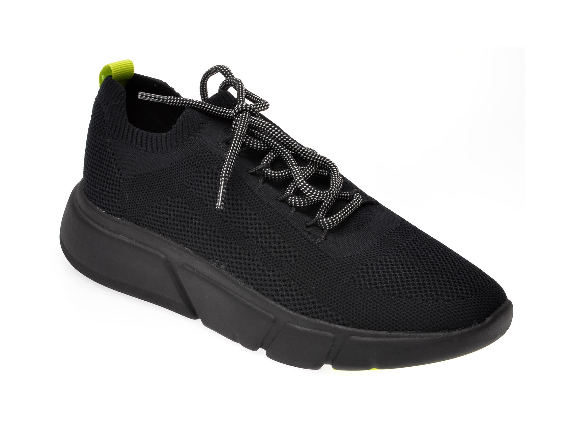 Pantofi sport ALDO negri, Ambla004, din material textil imagine