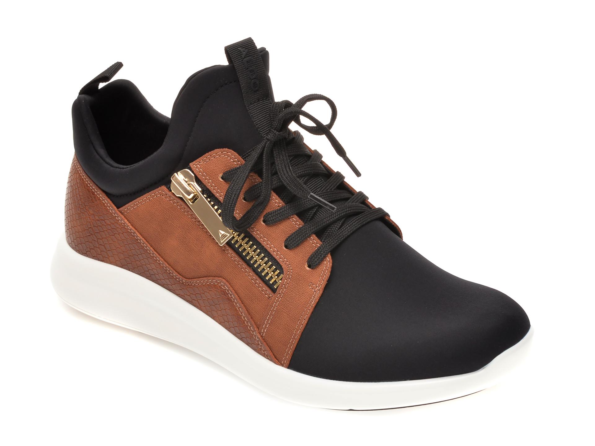 Pantofi sport ALDO negri, Caderuschi004, din material textil imagine