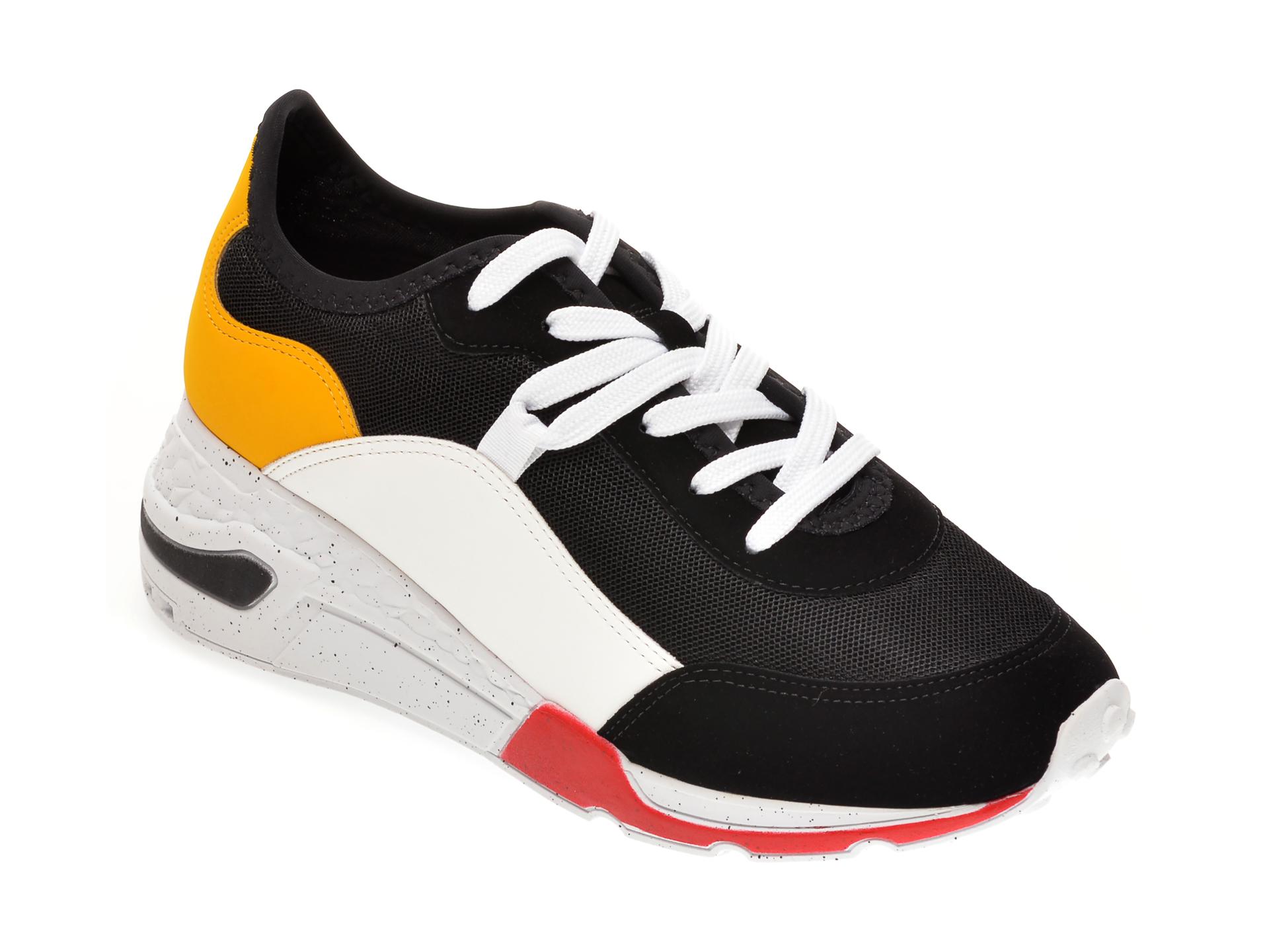 Pantofi sport ALDO negri, Cadorelia001, din material textil si piele ecologica
