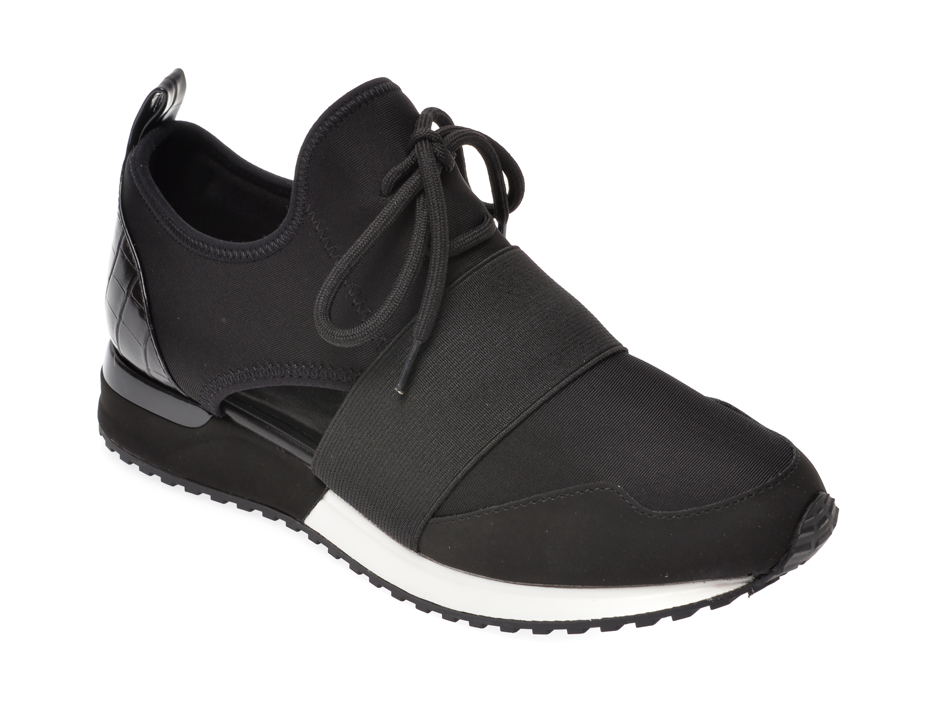 Pantofi sport ALDO negri, Dwiedia004, din material textil imagine
