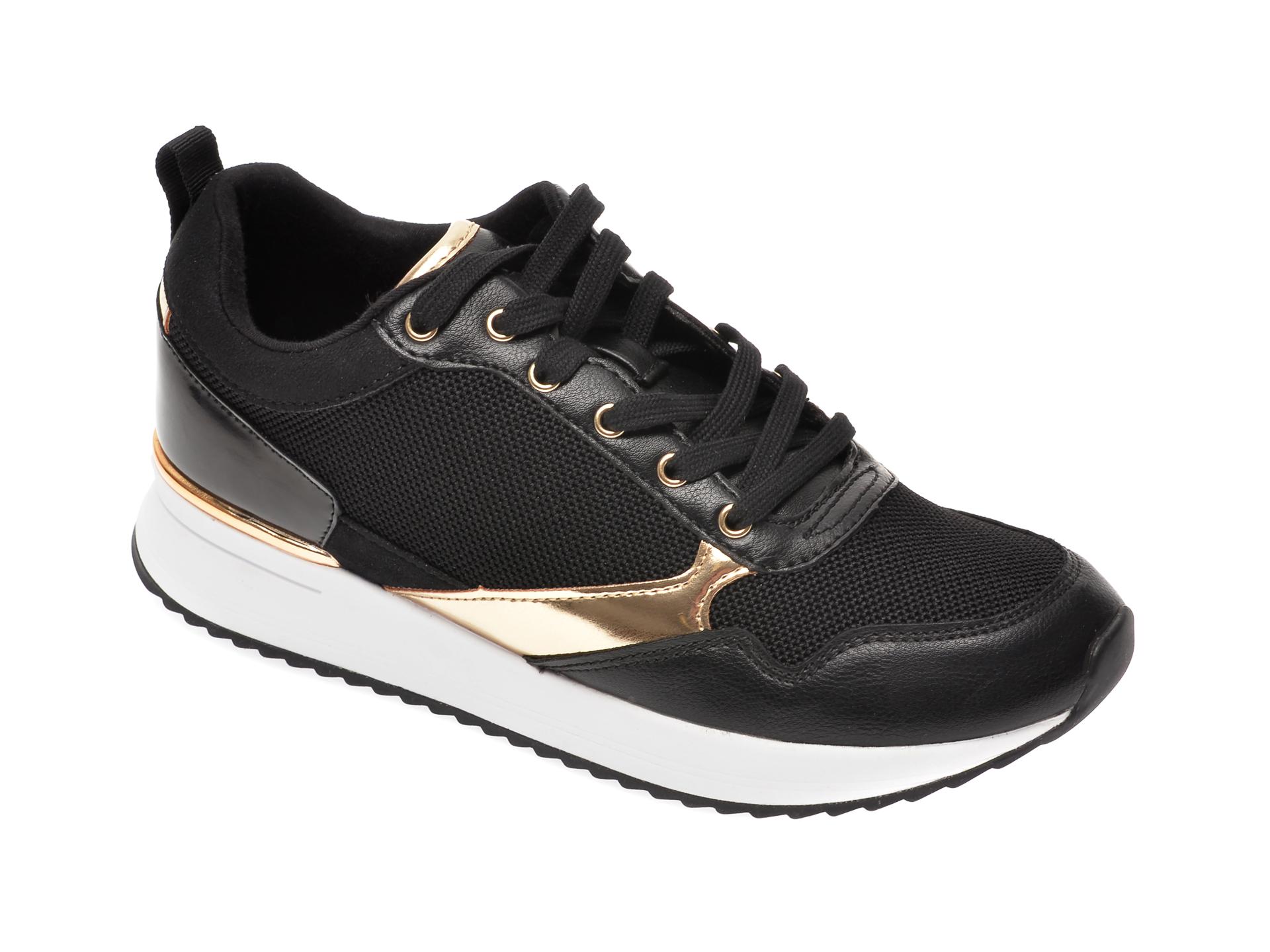 Pantofi sport ALDO negri, Genica001, din material textil imagine