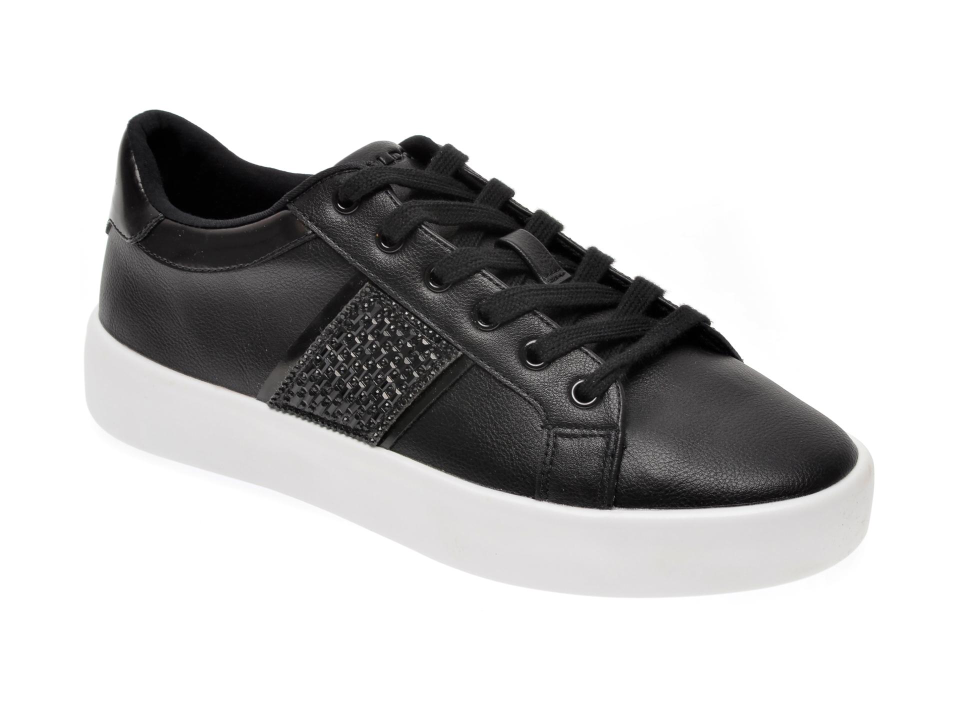 Pantofi sport ALDO negri, Pernille001, din piele ecologica