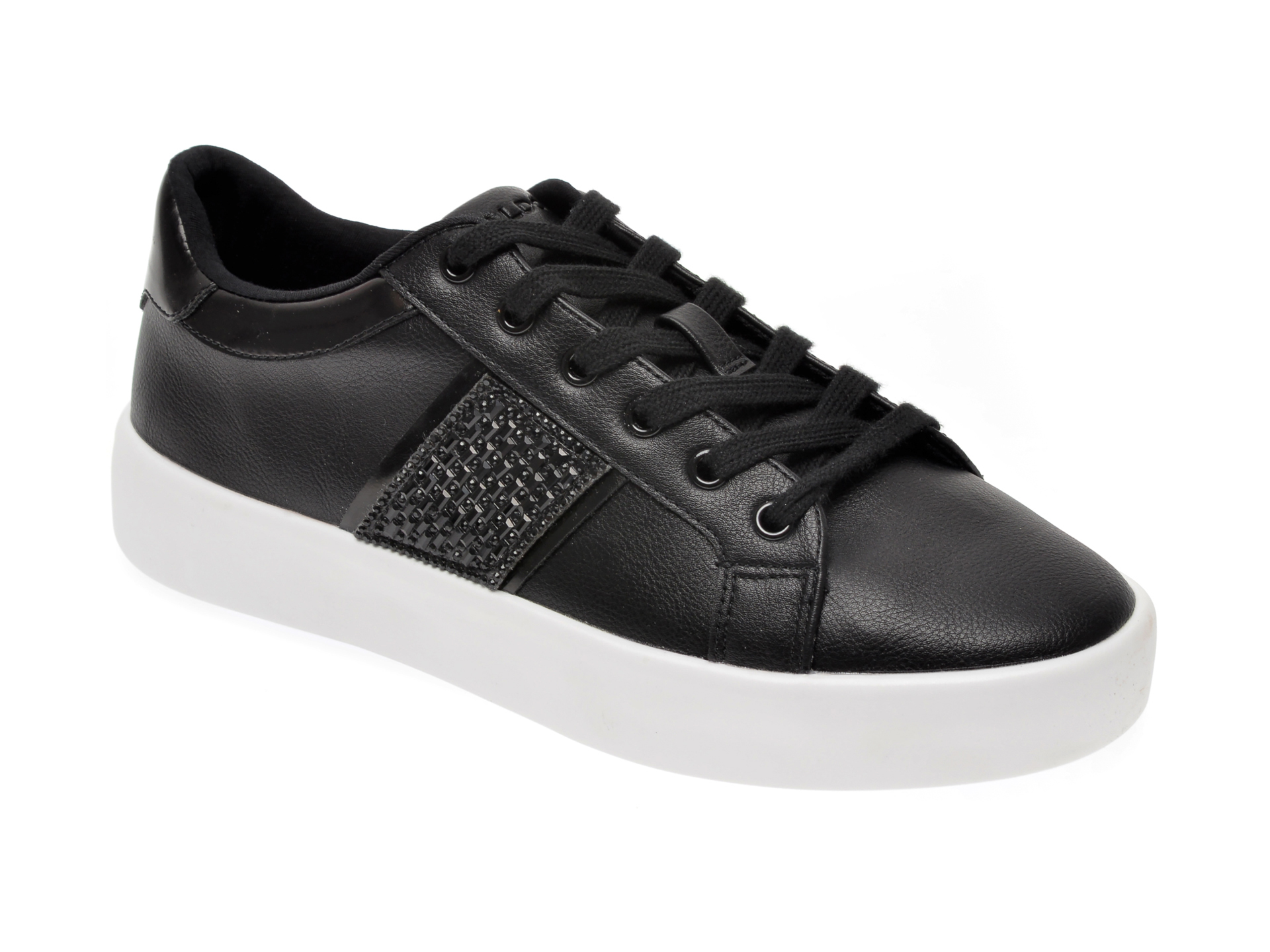 Pantofi sport ALDO negri, Pernille001, din piele ecologica imagine otter.ro