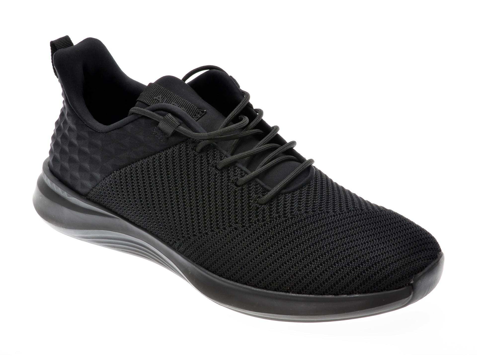 Pantofi sport ALDO negri, Rpplclear1A008, din material textil imagine