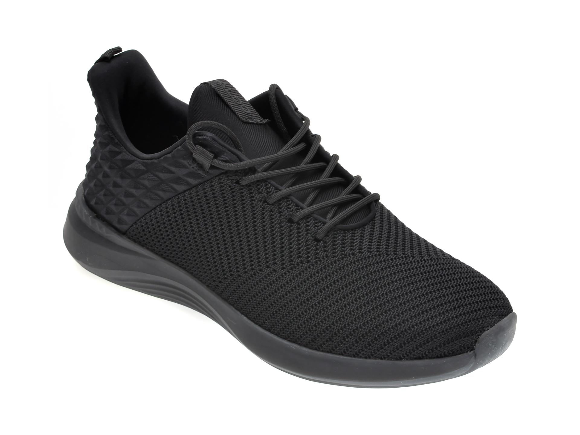 Pantofi sport ALDO negri, Rpplclear1B008, din material textil New