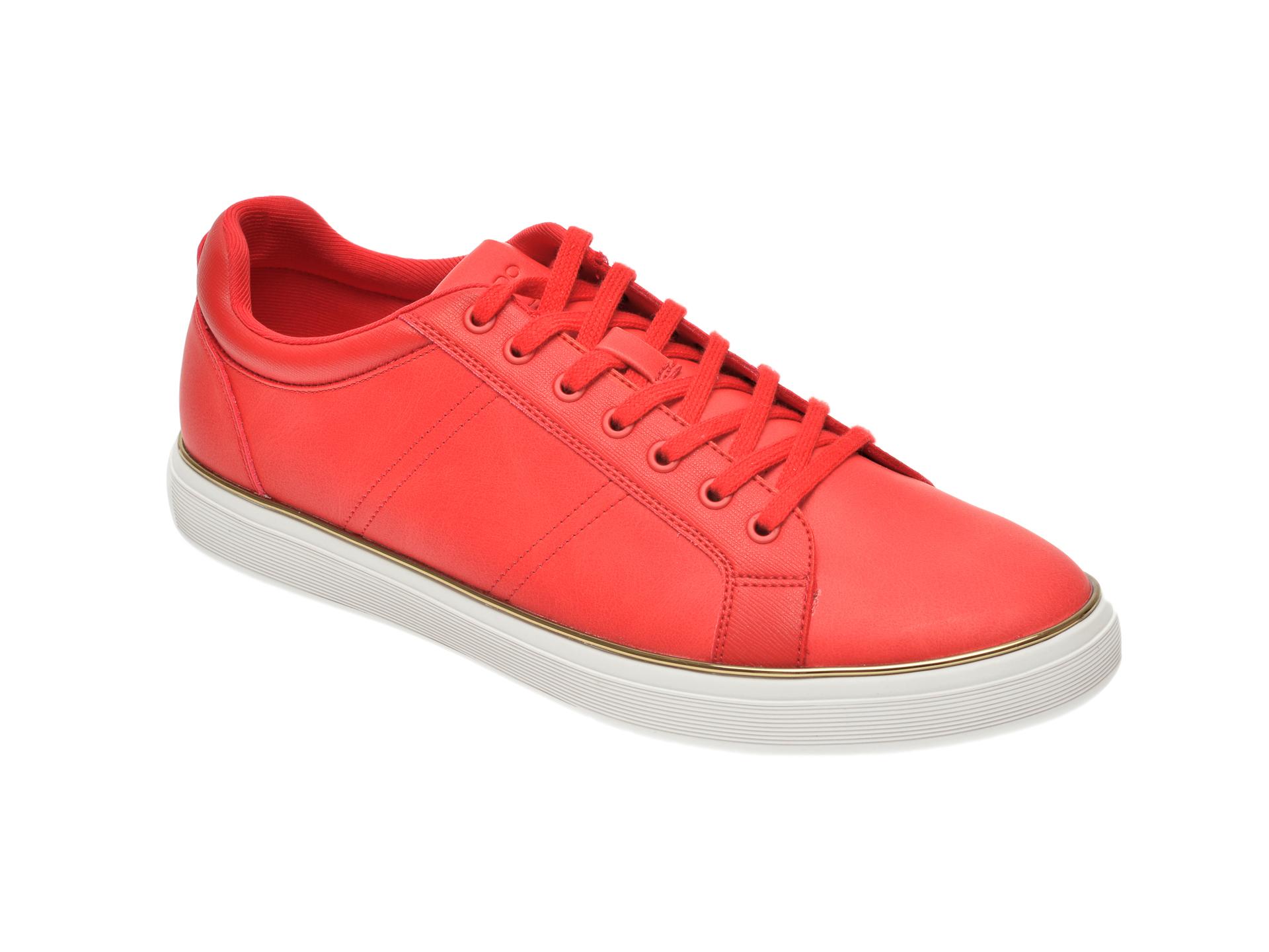 Pantofi sport ALDO rosii, Braunton600, din piele ecologica