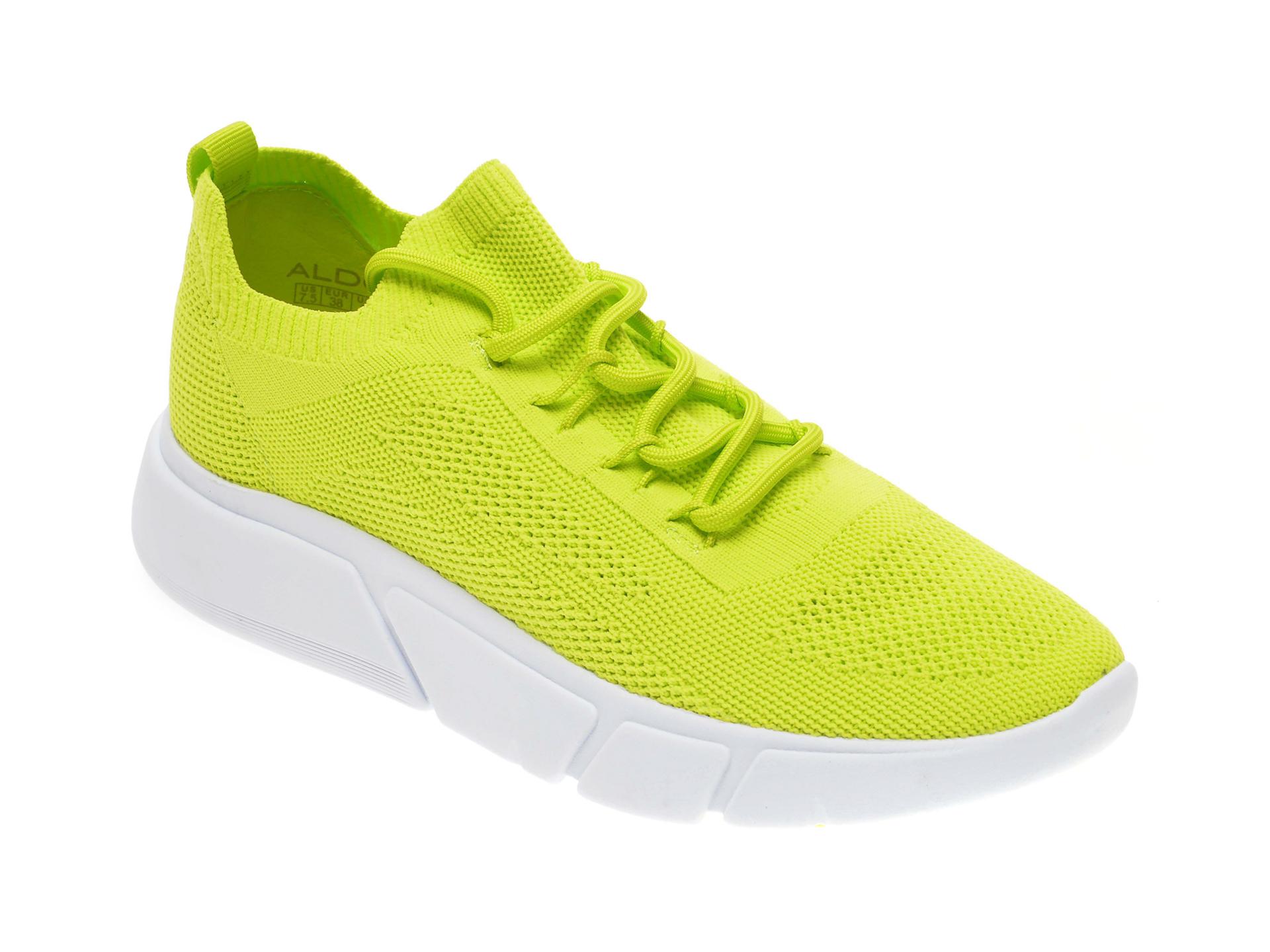Pantofi sport ALDO verzi, Ambla320, din material textil imagine