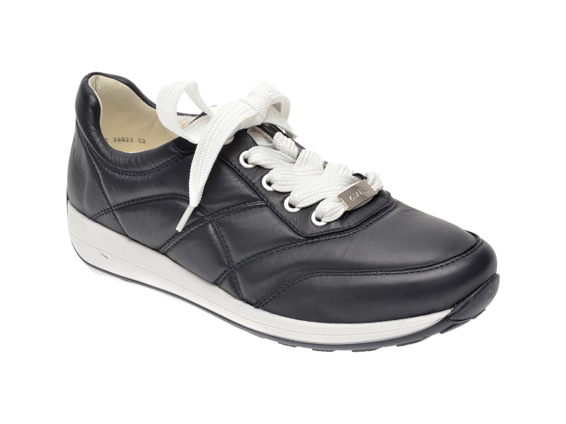 Pantofi sport ARA bleumarin, 34523, din piele naturala imagine