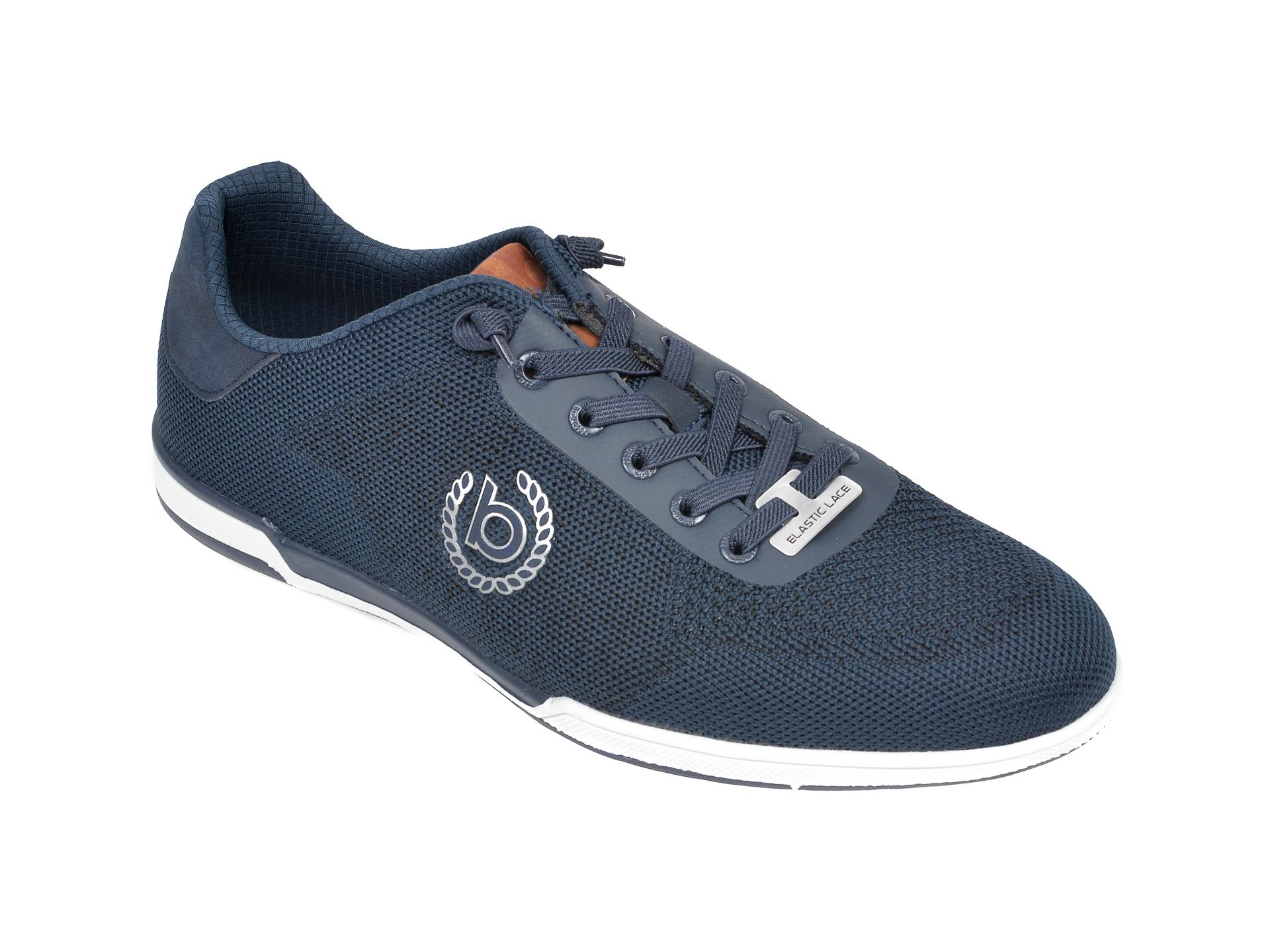 Pantofi sport BUGATTI bleumarin, 72605, din material textil imagine