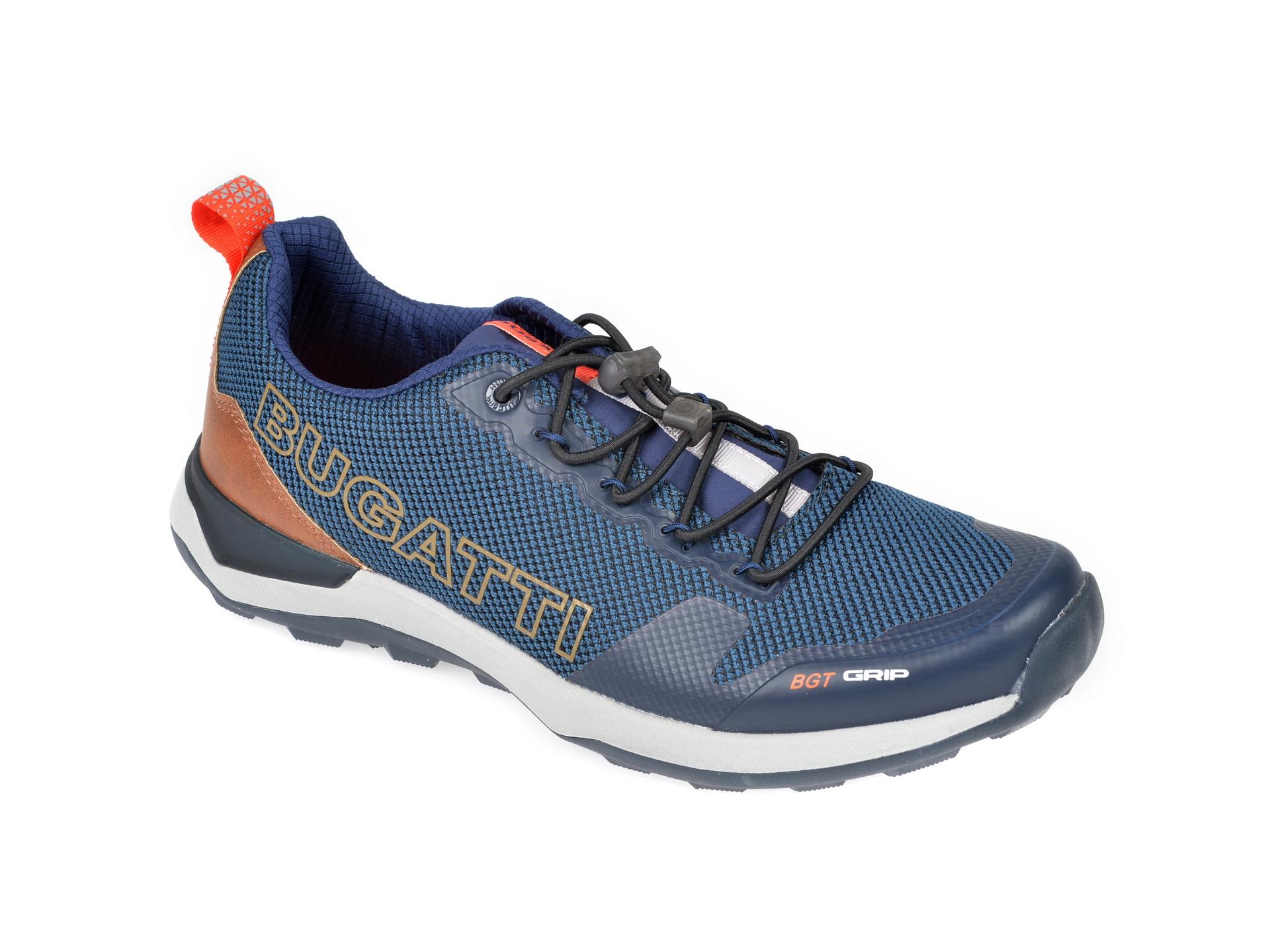 Pantofi sport BUGATTI bleumarin, 84903, din material textil imagine