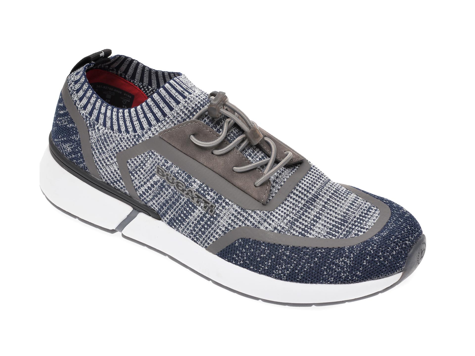Pantofi sport BUGATTI bleumarin, 92760, din material textil imagine