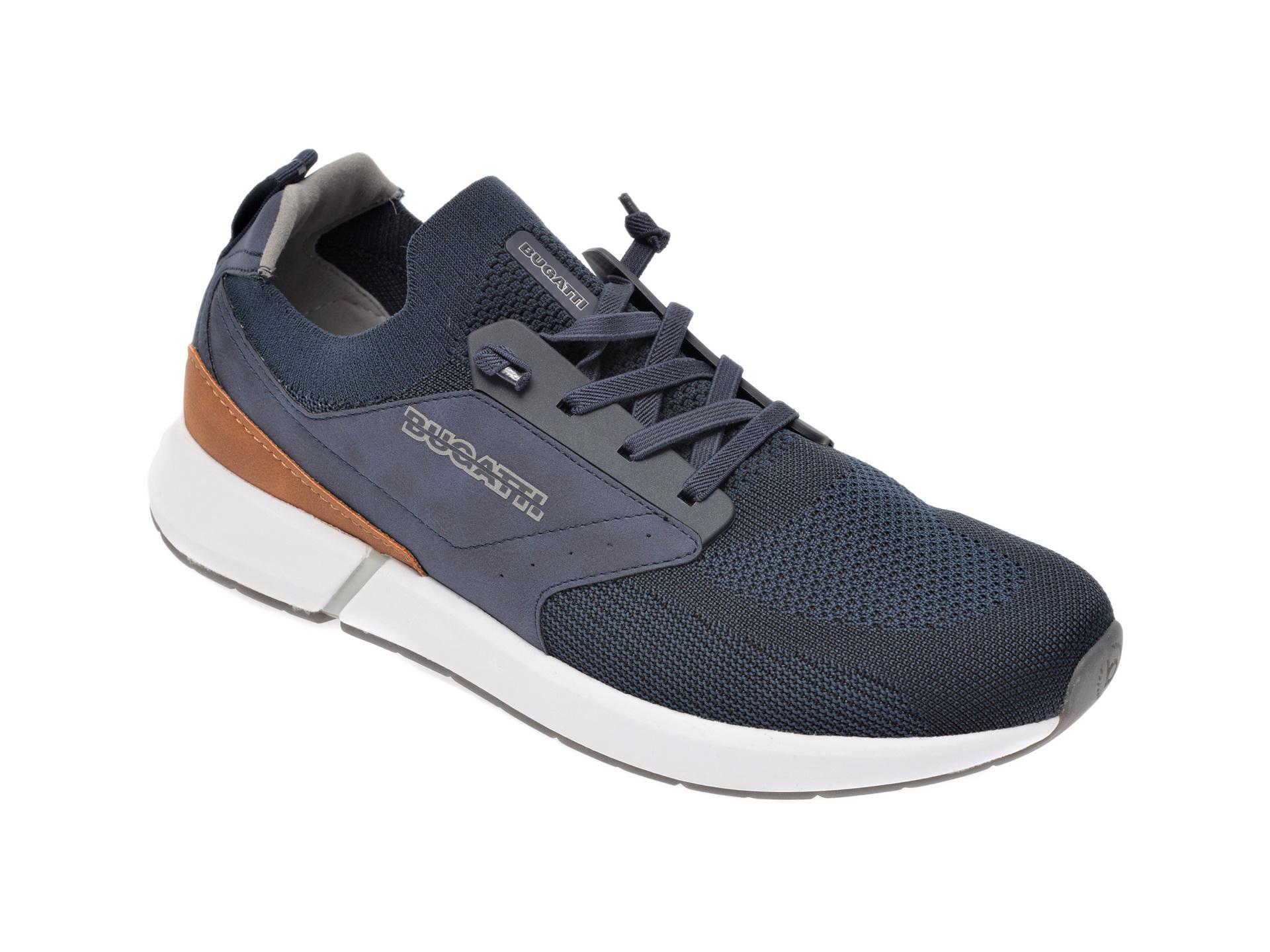 Pantofi sport BUGATTI bleumarin, 92761, din material textil imagine