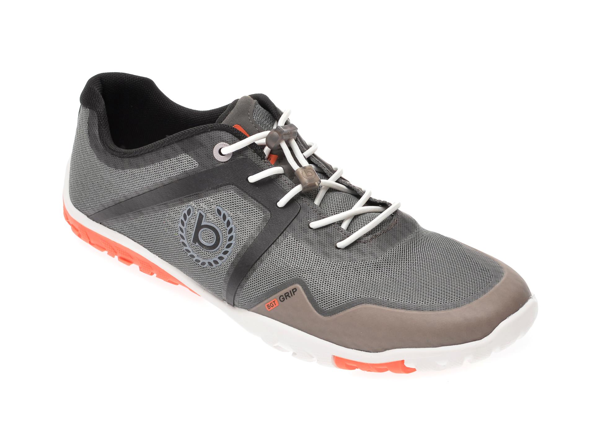 Pantofi sport BUGATTI gri, 91703, din material textil imagine