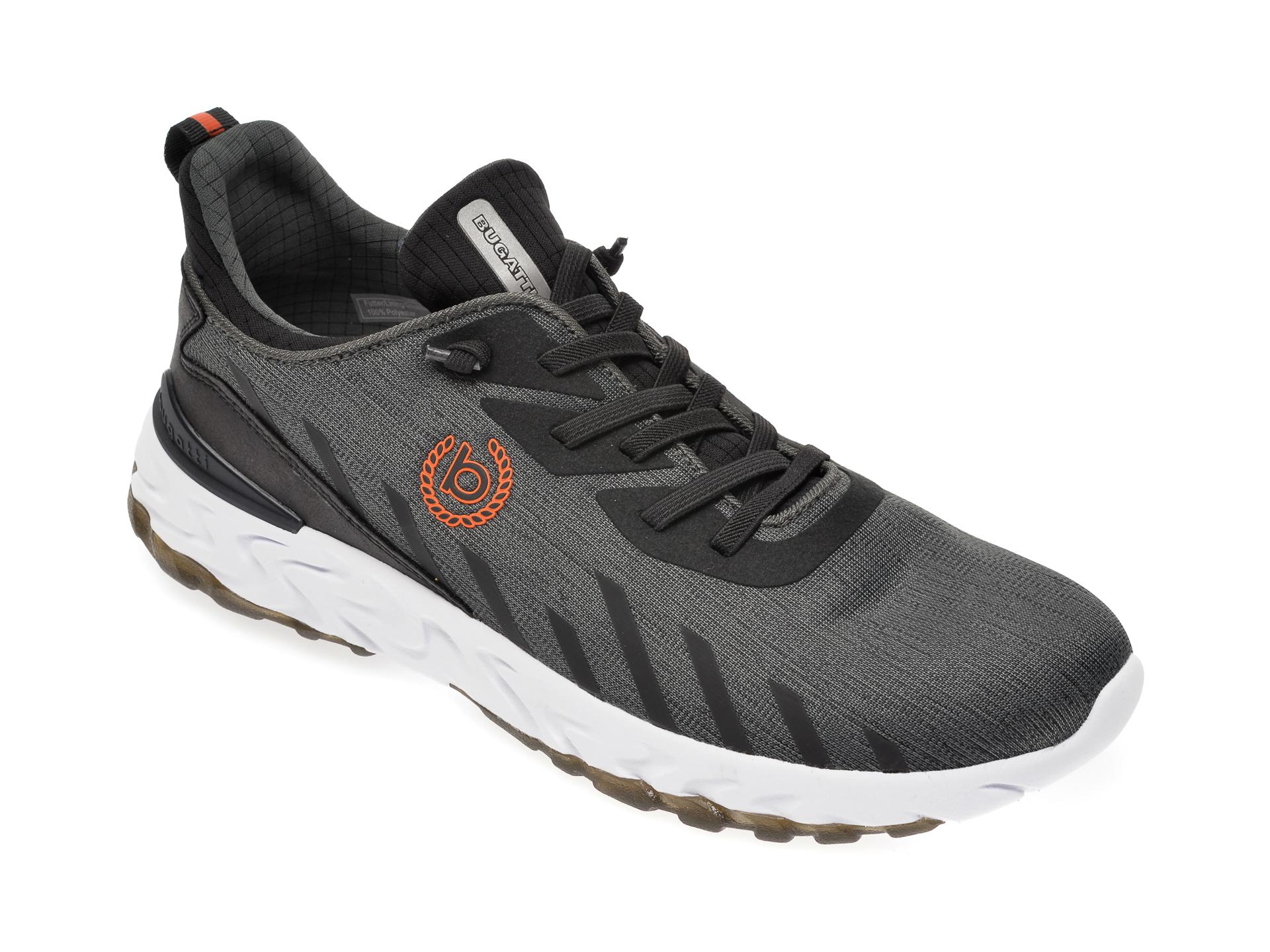 Pantofi sport BUGATTI gri, 92860, din material textil imagine