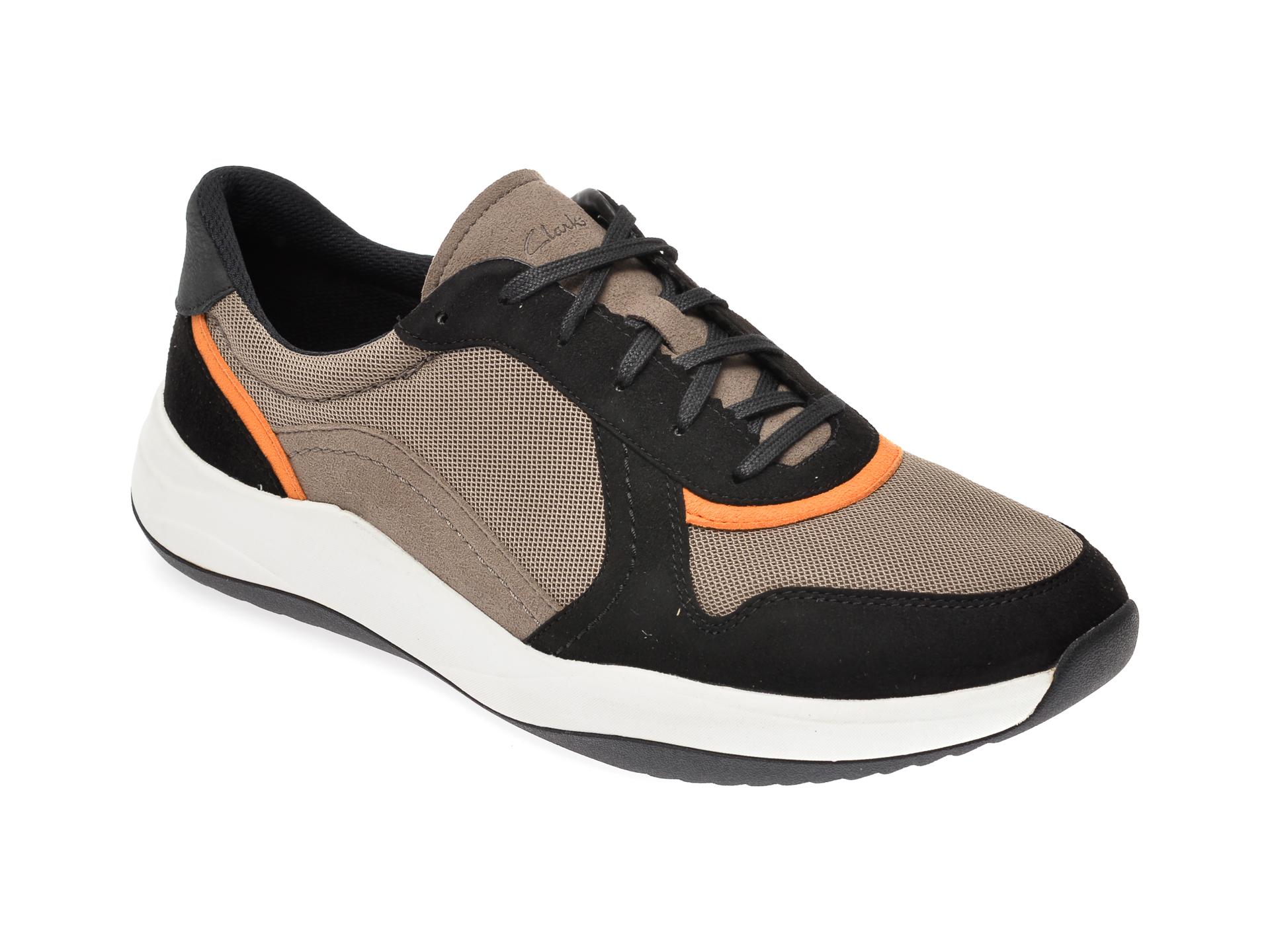 Pantofi sport CLARKS gri, Sift Speed, din material textil imagine