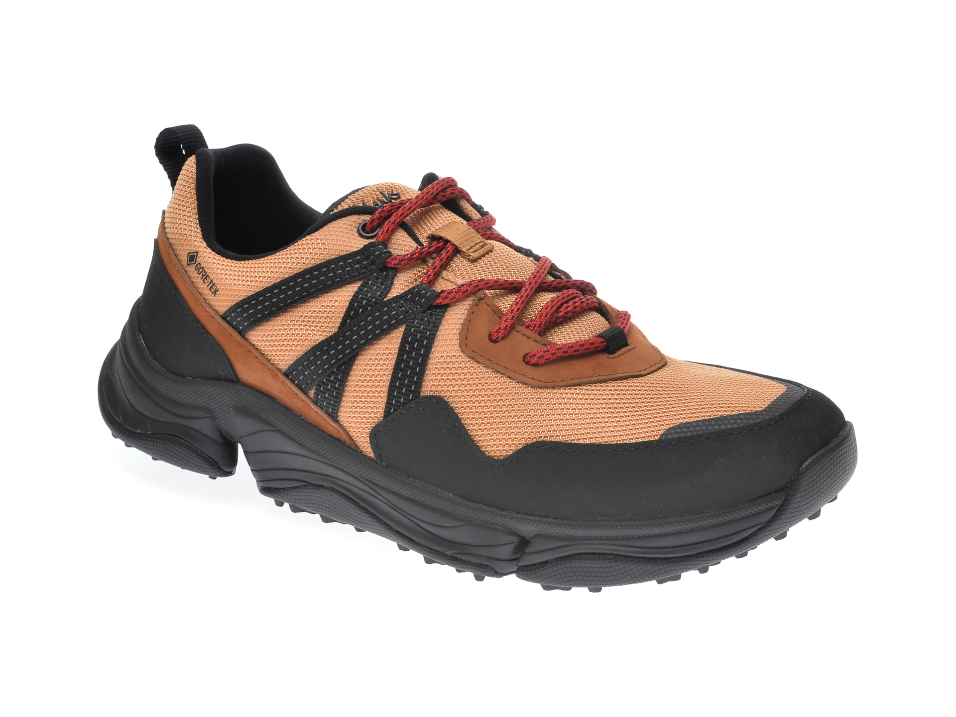 Pantofi sport CLARKS maro, TRU PATH TREK, din material textil imagine