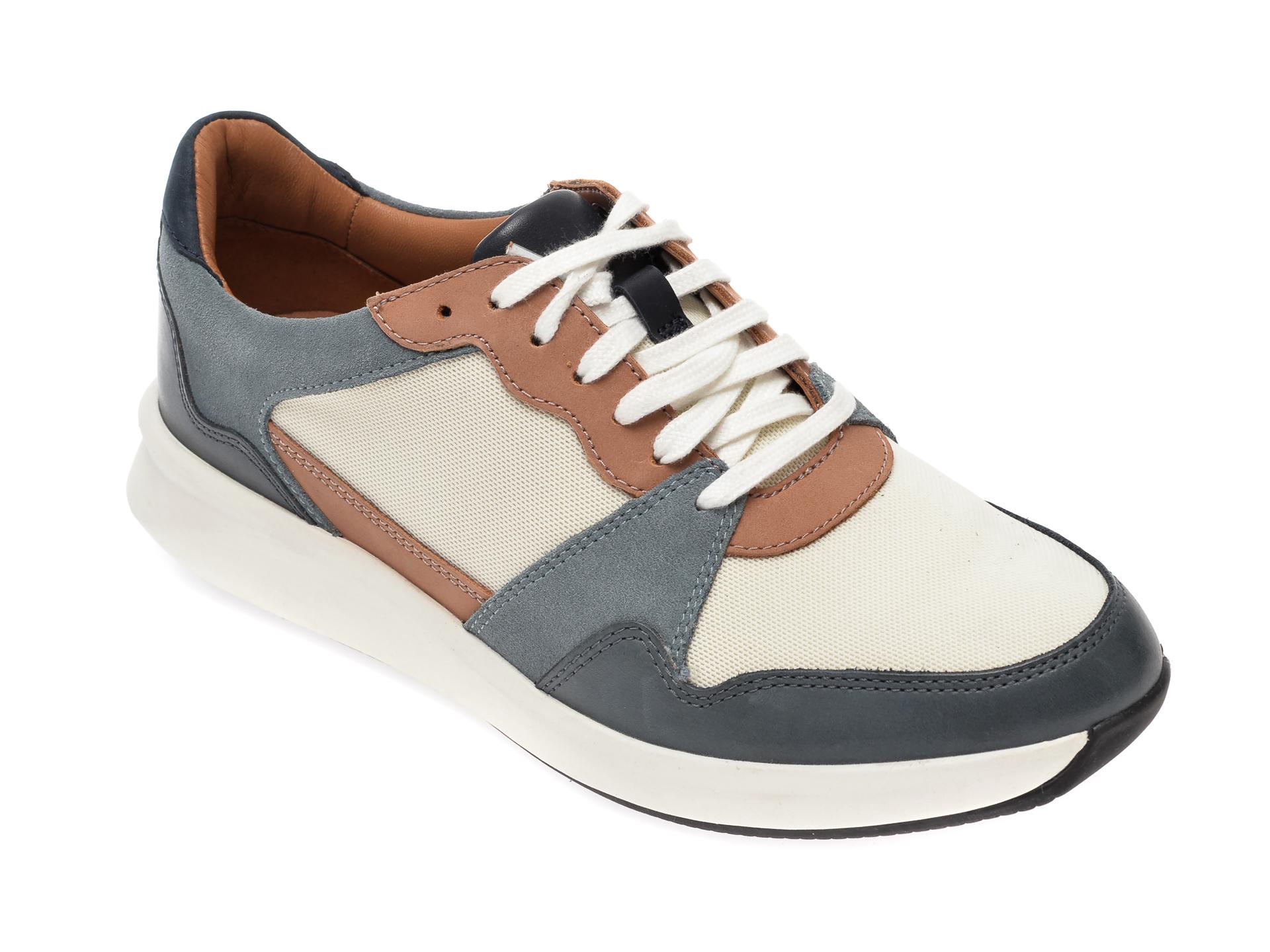 Pantofi sport CLARKS multicolor, Un Rio Run, din material textil si piele naturala imagine