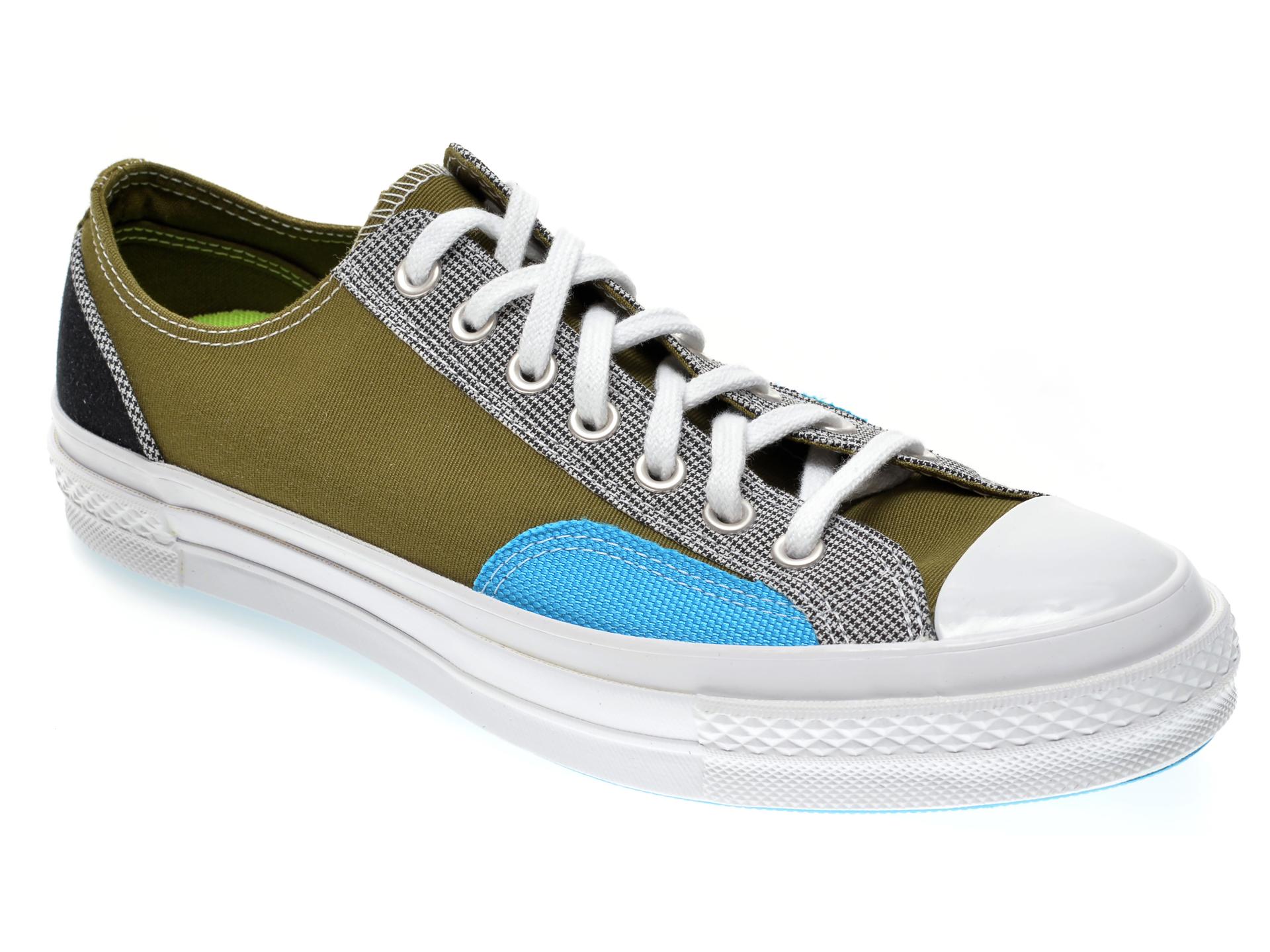 Pantofi sport CONVERSE kaki, 168700C, din material textil